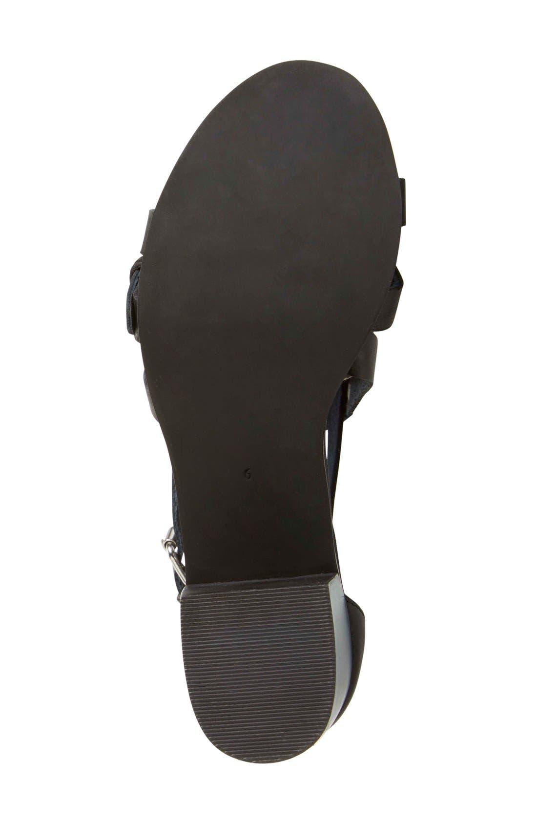 Alternate Image 4  - Seychelles 'Aquarius' Ankle Strap Sandal (Women)