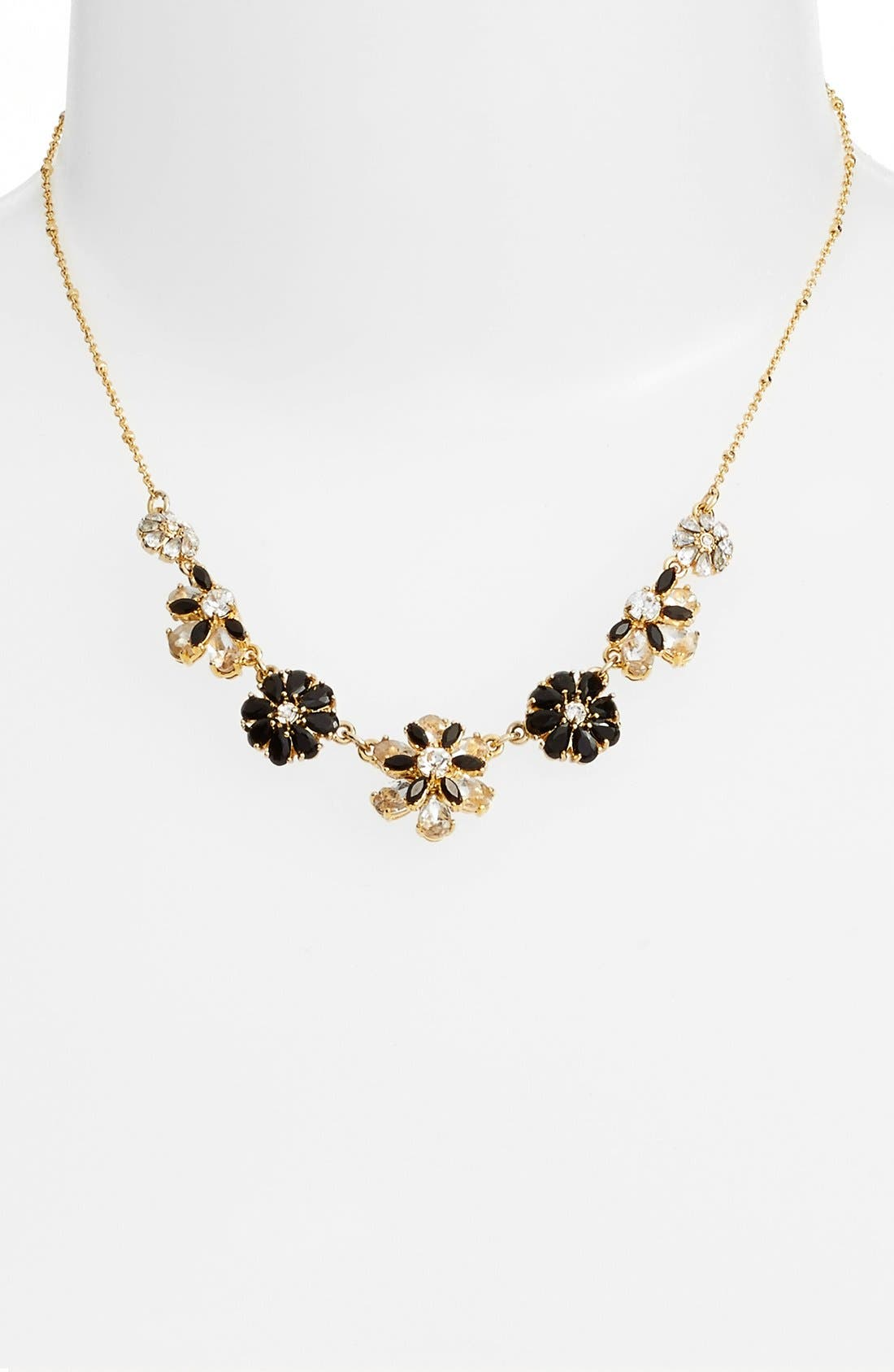 Alternate Image 2  - kate spade new york 'shadow blossoms' mini necklace