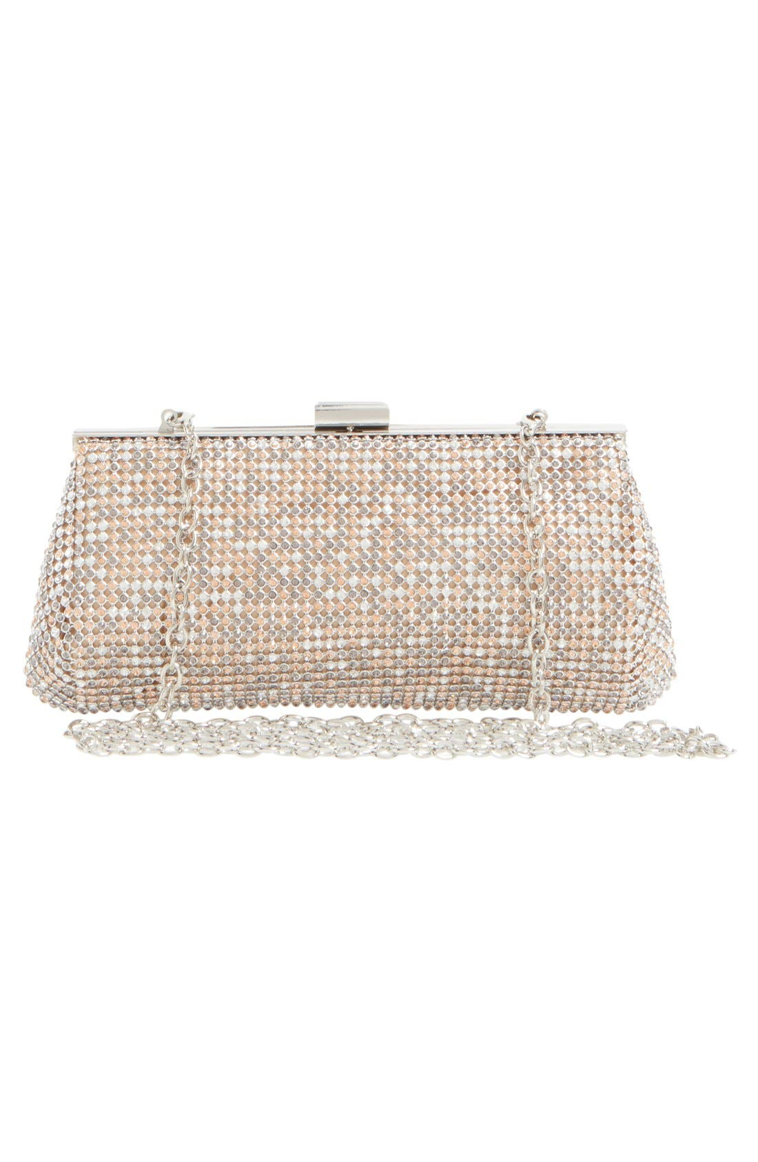 Alternate Image 3  - Glint Crystal Mesh Clutch