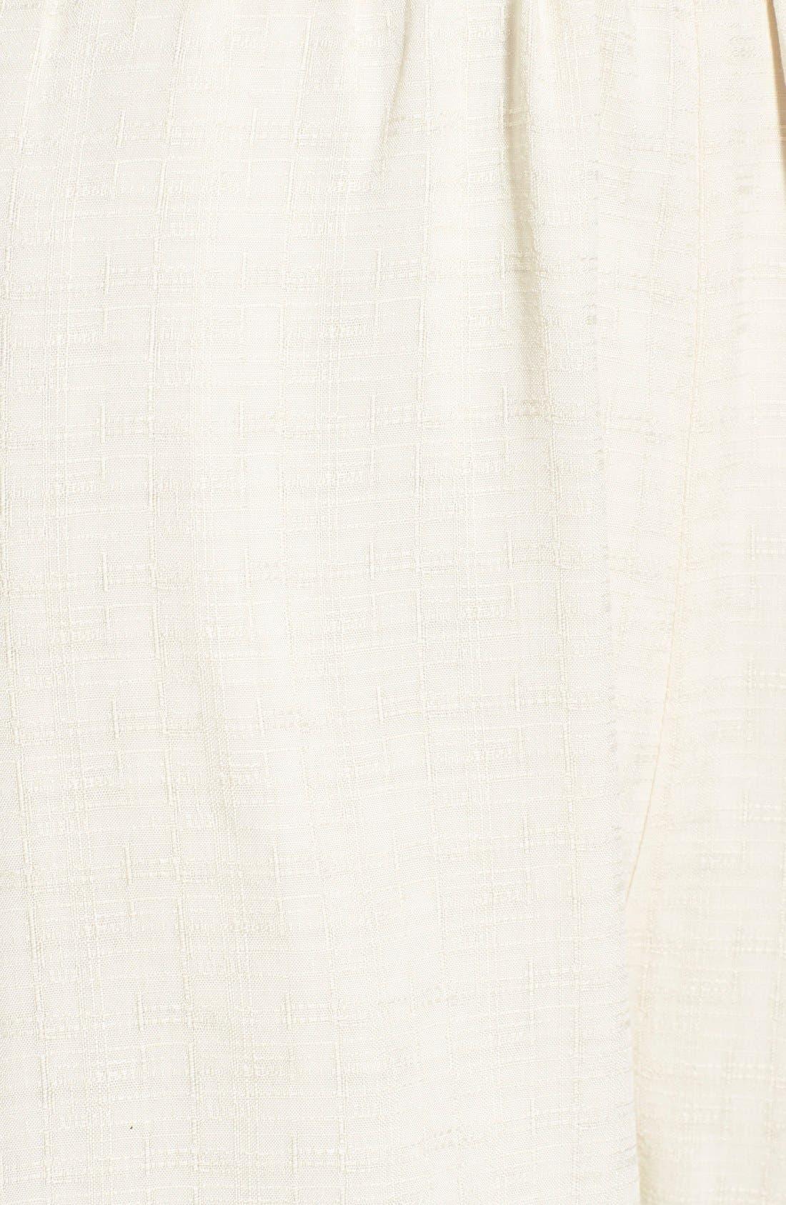 Alternate Image 6  - ASTR Embroidered Bell Sleeve Romper
