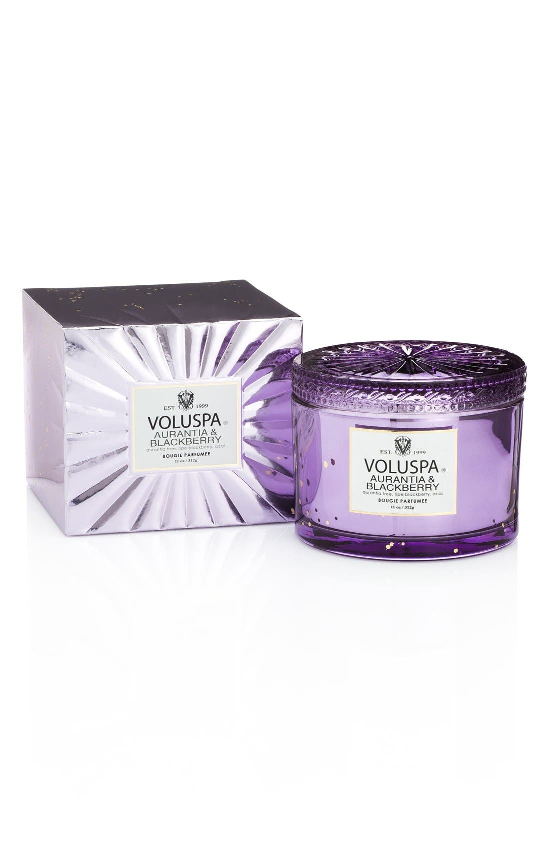 Voluspa 'Maison Blanc - Aurantia & Blackberry' Boxed Lidded Candle