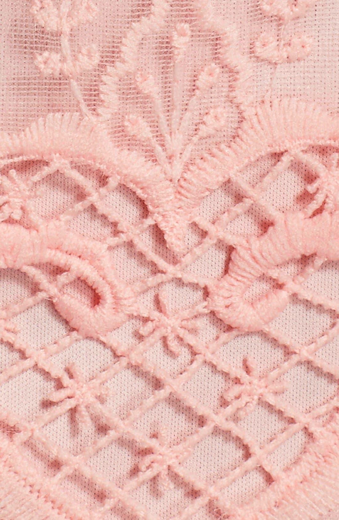 Alternate Image 6  - Chetta B Tiered Lace Sheath Dress