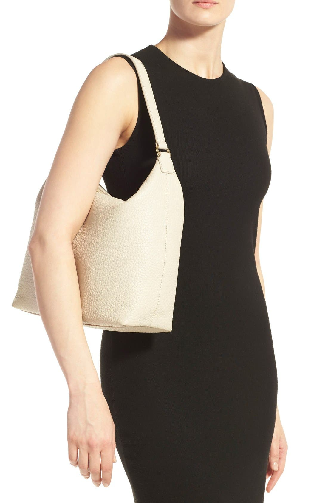 Alternate Image 2  - kate spade new york 'prospect place - kaia' leather hobo