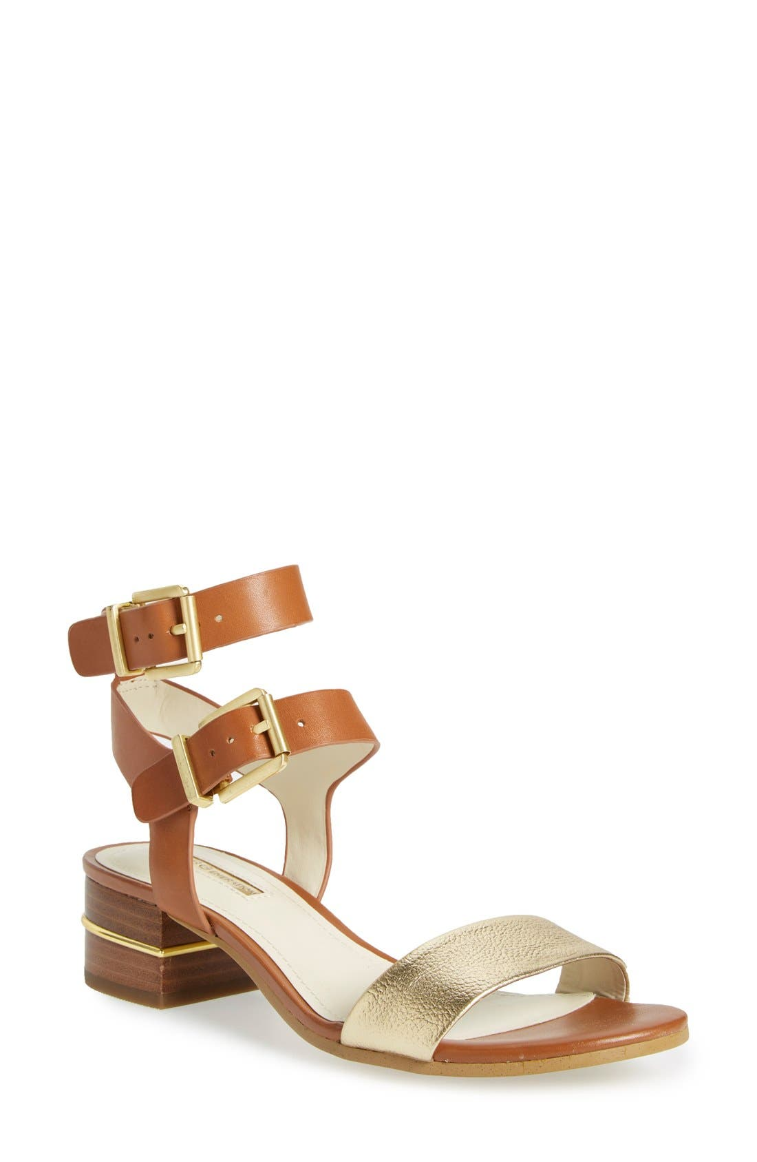Alternate Image 1 Selected - BCBGeneration 'Roger' Block Heel Sandal (Women)