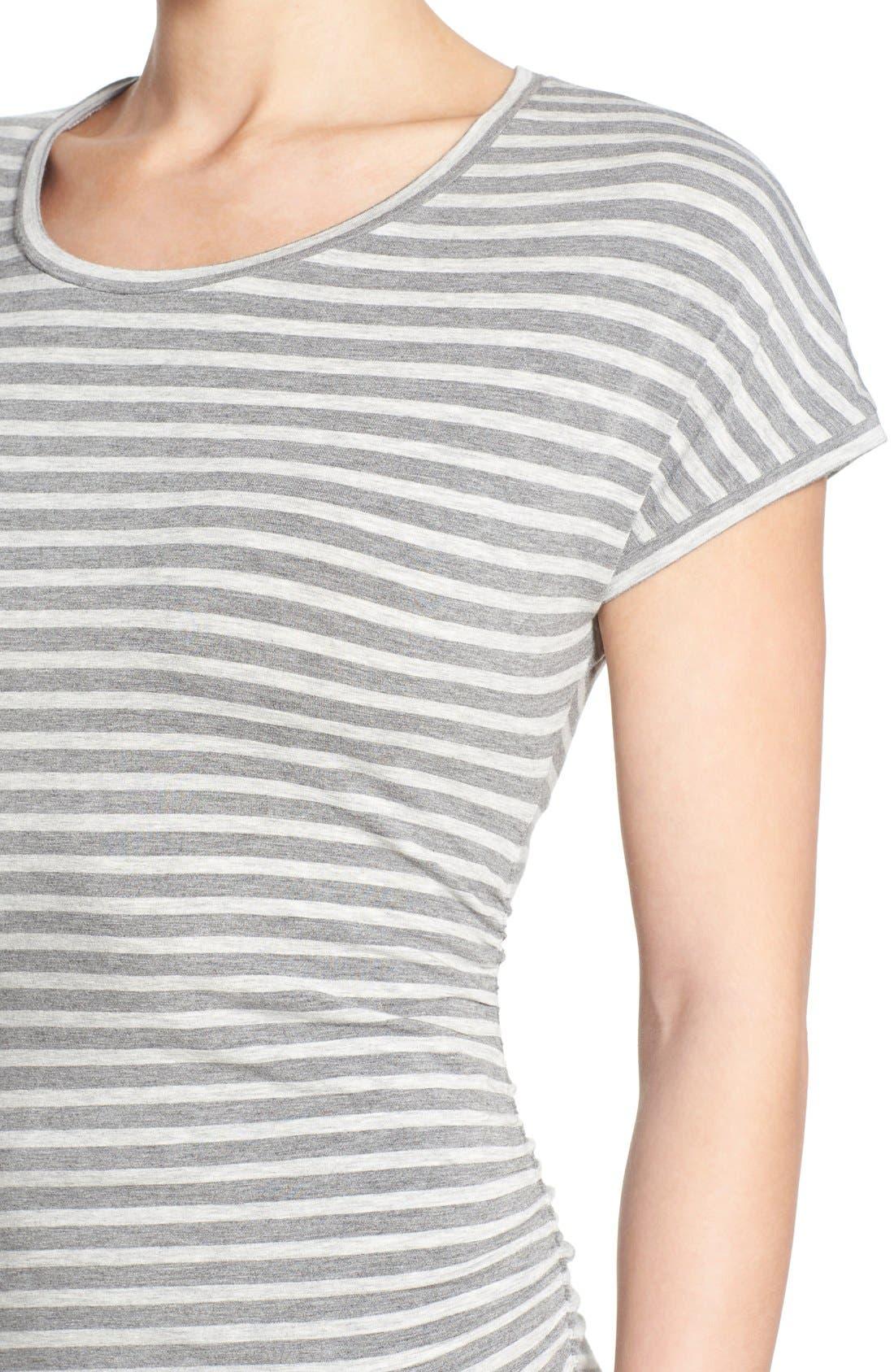 Alternate Image 4  - Caslon® 'Growover' Jersey T-Shirt Dress