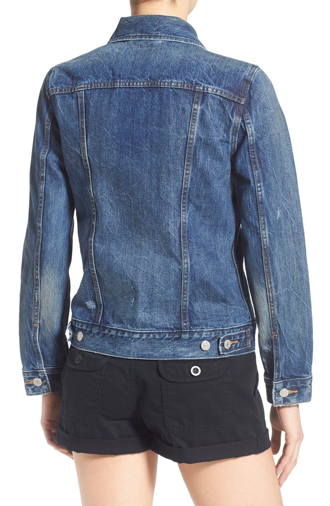 Alternate Image 2  - Levi's® Denim Trucker Jacket