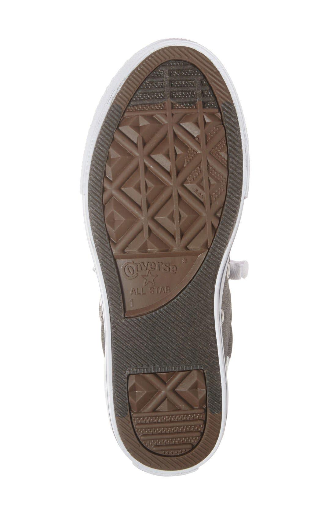 Alternate Image 4  - Converse Chuck Taylor® All Star® 'CTAS Street' Mid Sneaker (Baby, Walker, Toddler Little Kid & Big Kid)