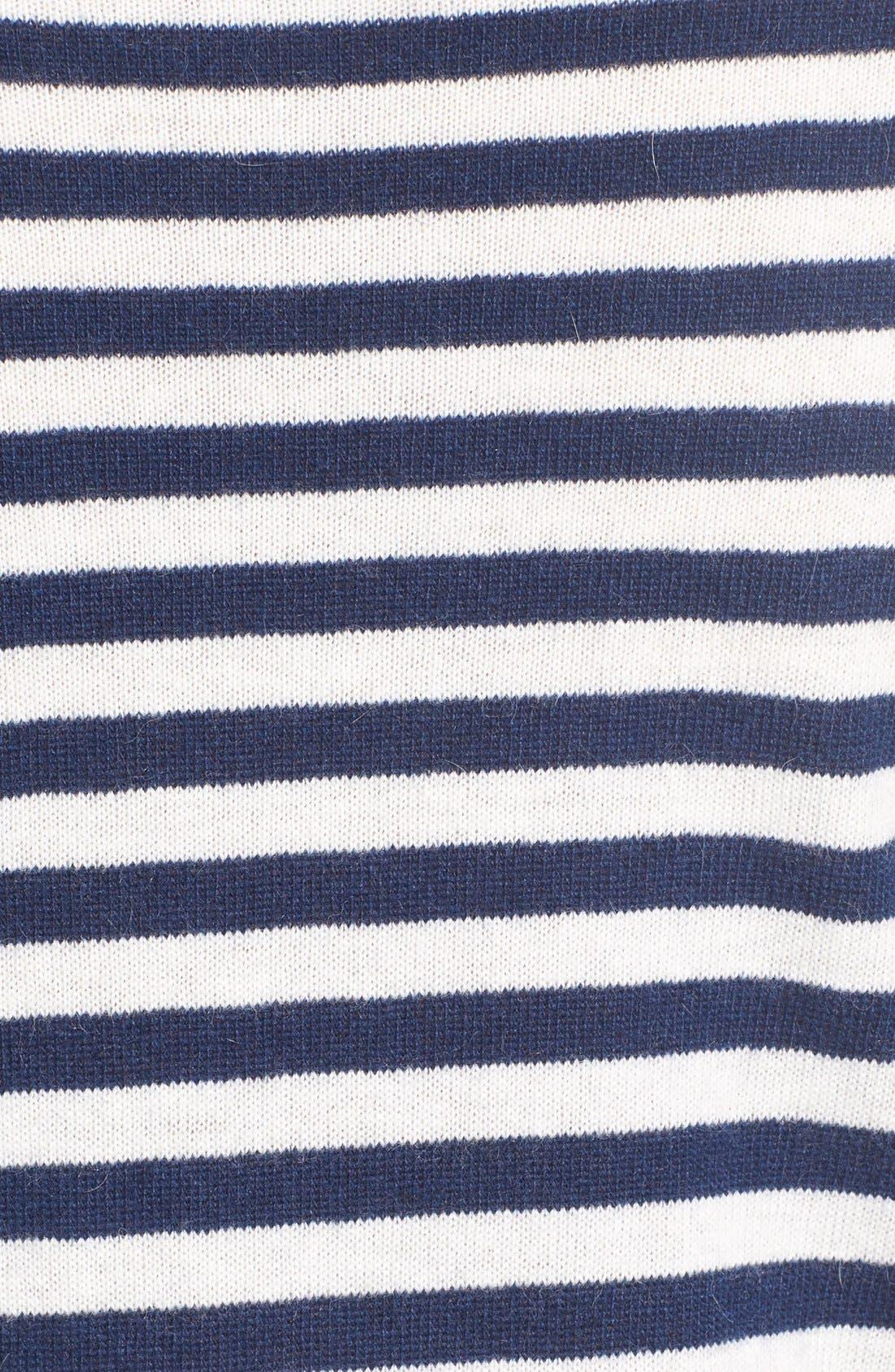 Alternate Image 5  - Vineyard Vines 'Nautical Stripe Whale' Crewneck Sweater