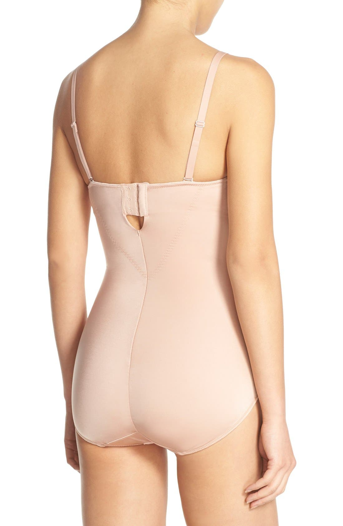 Alternate Image 2  - SPANX® Boostie-Yay Slimming Bodysuit with Bra Top
