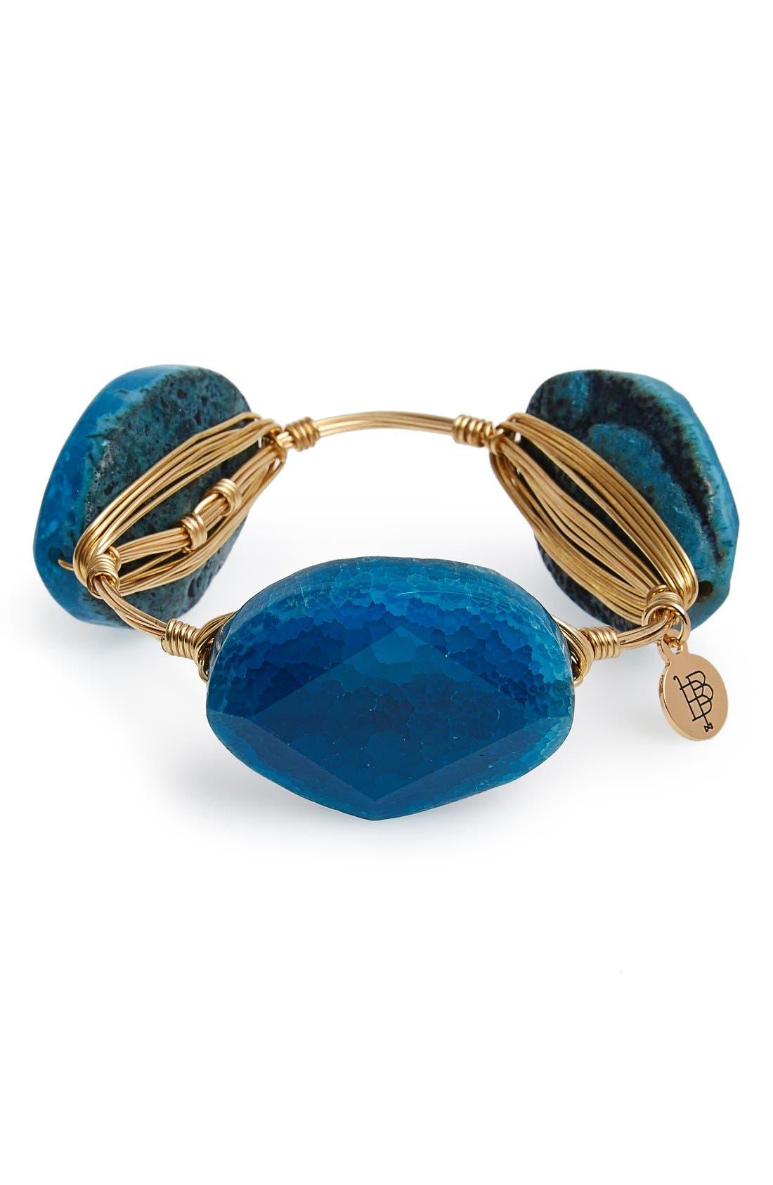 Alternate Image 3  - Bourbon and Boweties Dyed Agate Bracelet