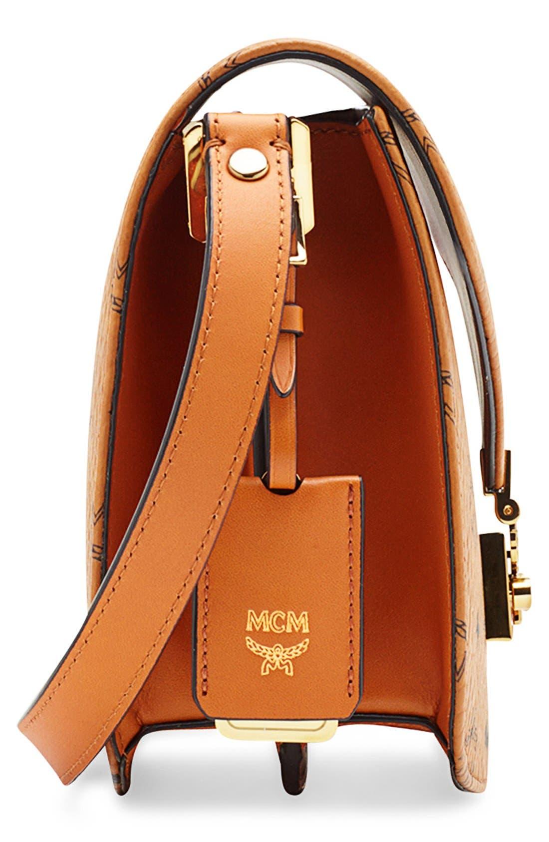 Alternate Image 5  - MCM 'Small Patricia' Visetos Coated Canvas Crossbody Bag