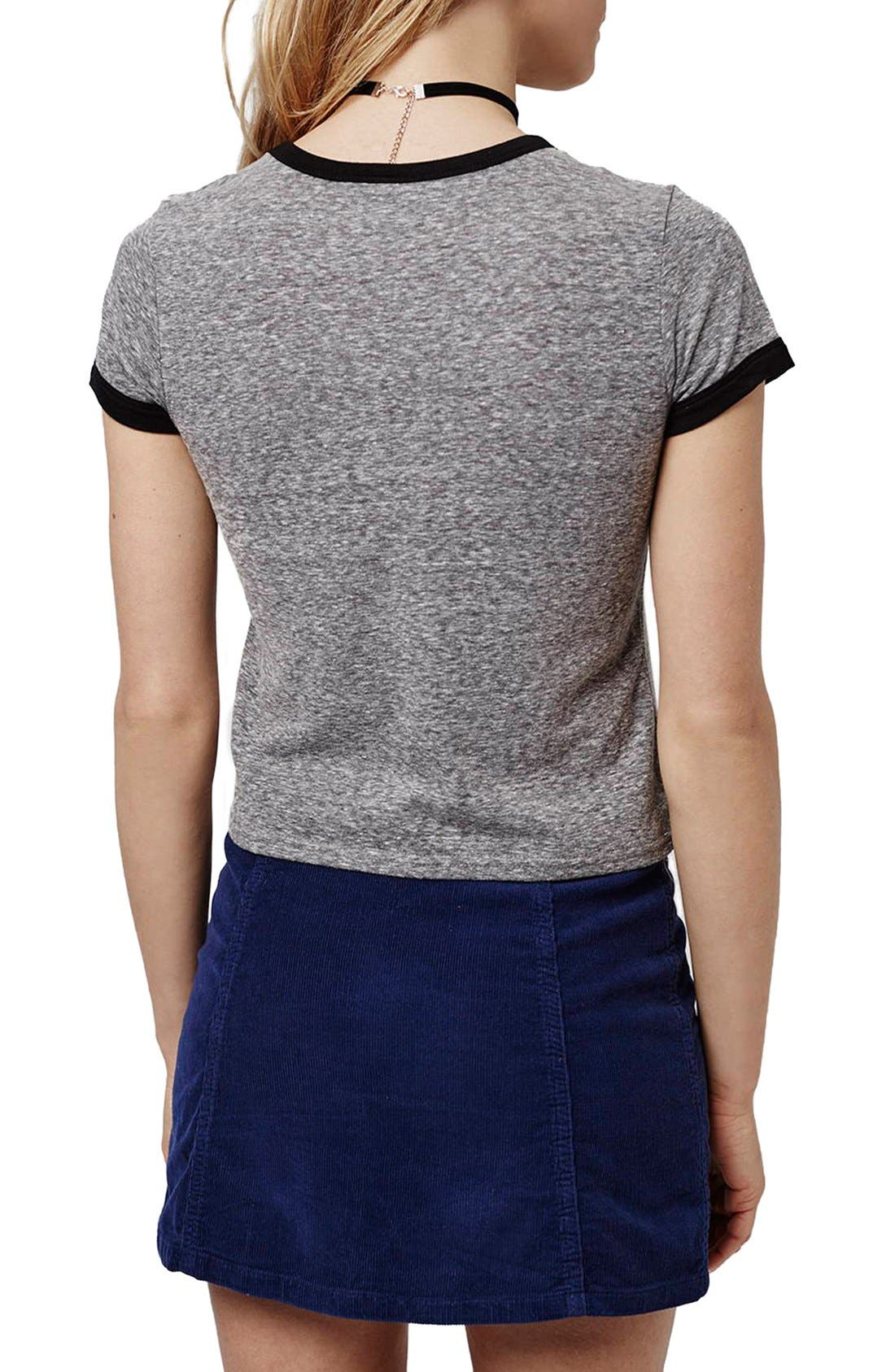 Alternate Image 3  - Topshop 'Mickey Mouse New York' Graphic Tee