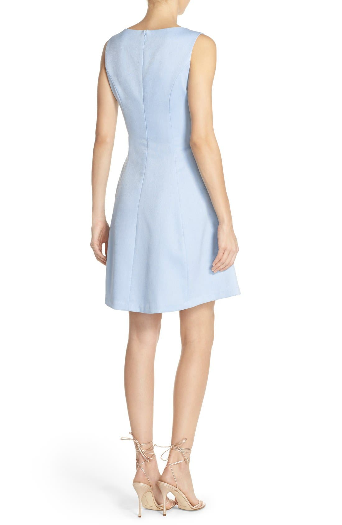 Alternate Image 2  - Chelsea28 Woven Fit & Flare Dress