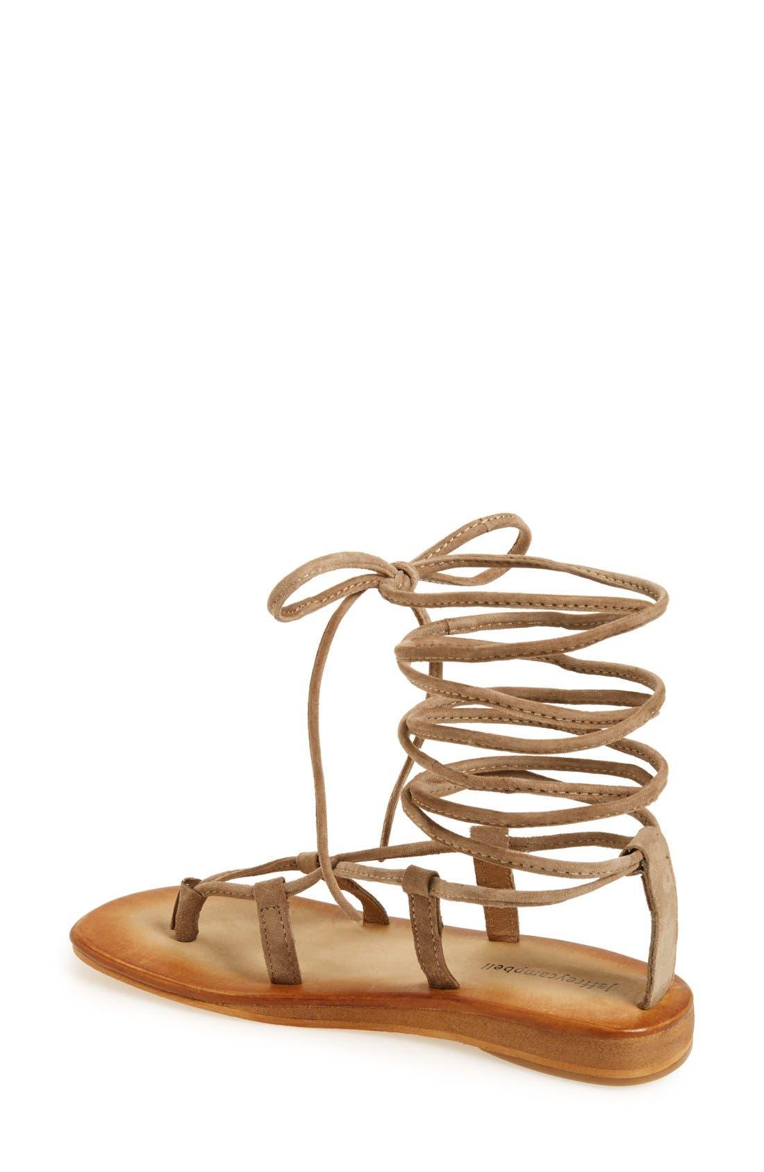 Alternate Image 2  - Jeffrey Campbell 'Lima' Wraparound Strap Sandal (Women)