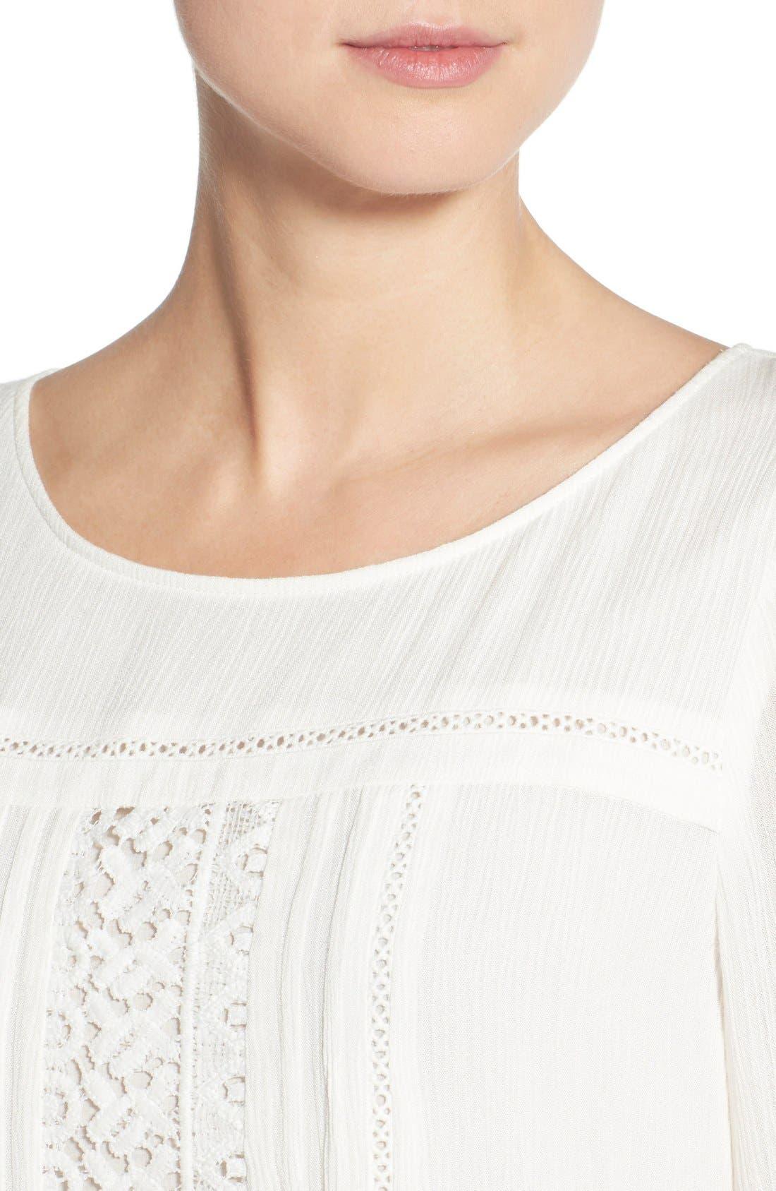 Alternate Image 4  - Sanctuary 'Desert Boheme' Lace Trim Shift Dress