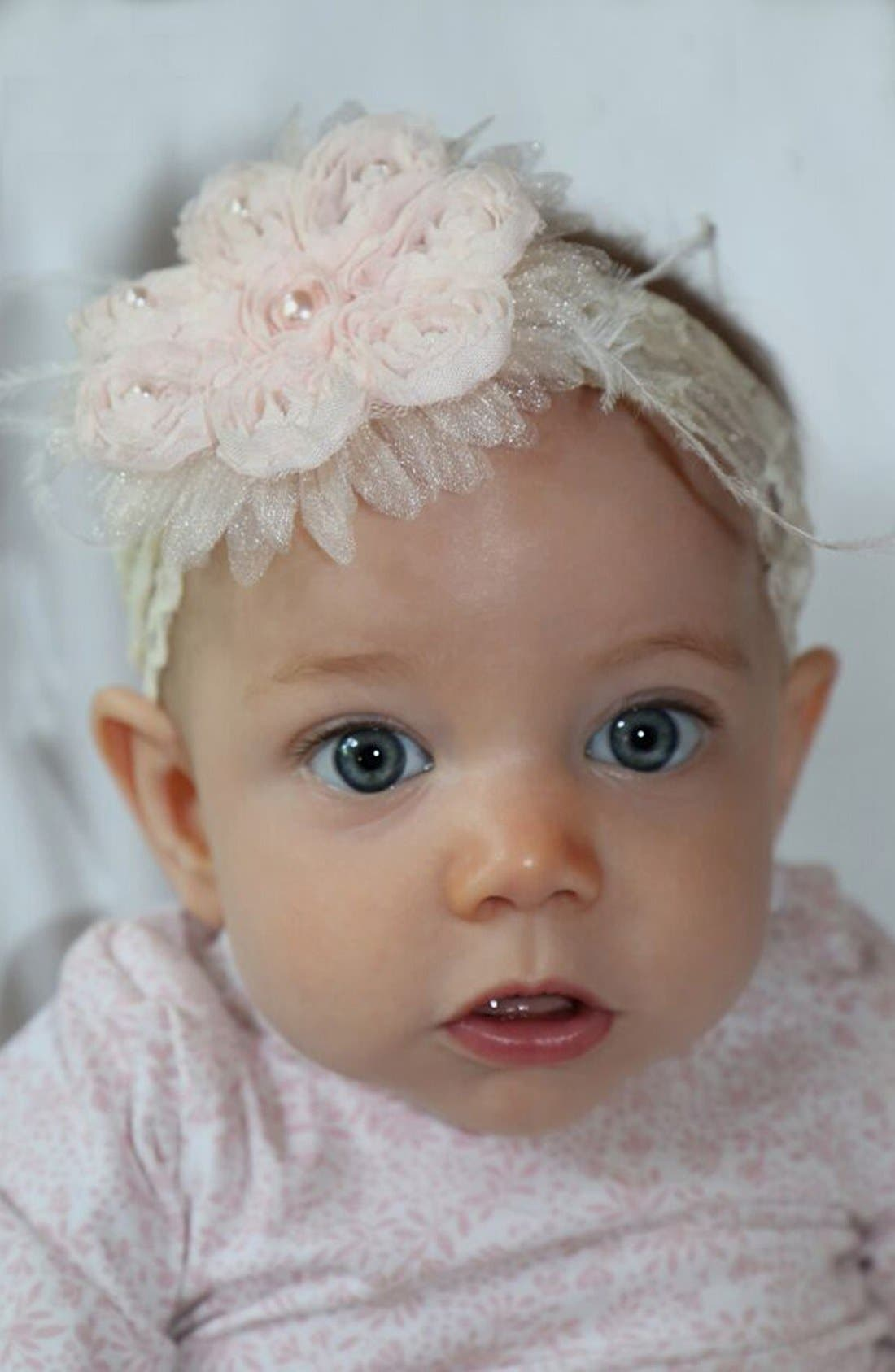 Alternate Image 4  - PLH Bows & Laces Headband (Baby Girls & Toddler Girls)