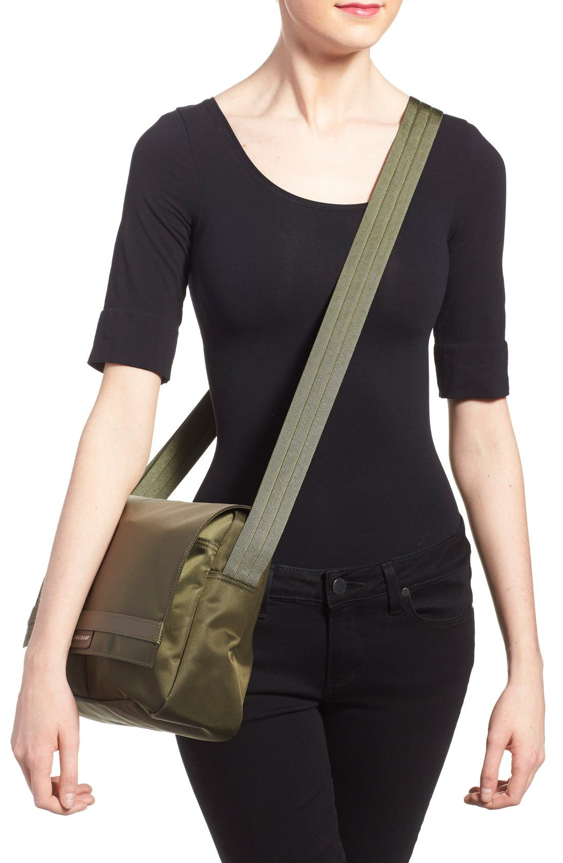 Alternate Image 2  - Longchamp 'Le Pliage Neo' Messenger Bag