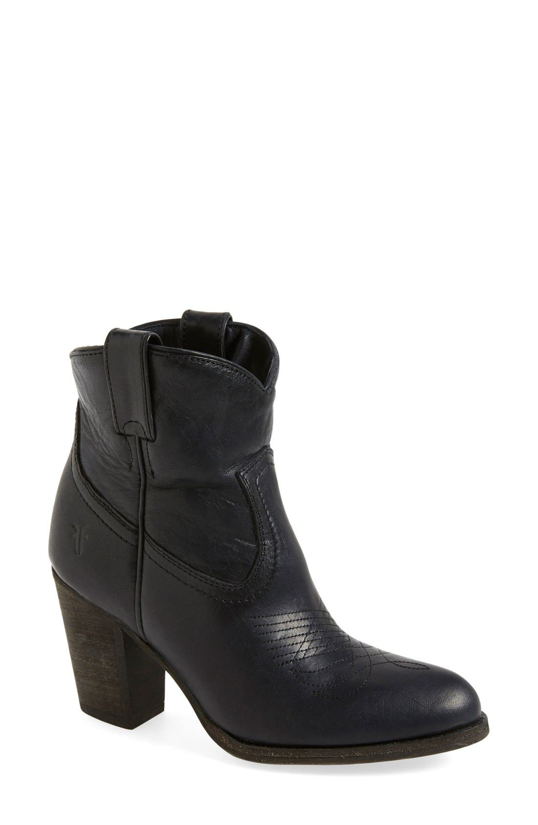 Alternate Image 1 Selected - Frye 'Ilana' Short Western Boot (Women)