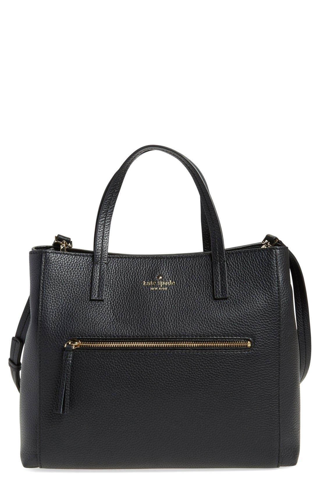 Main Image - kate spade new york 'spencer court - tera' leather satchel (Nordstrom Exclusive)