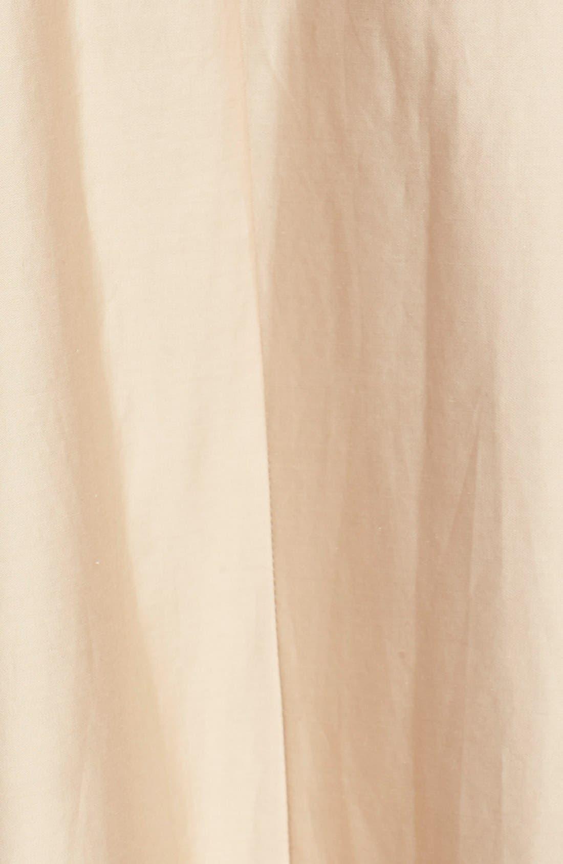 Alternate Image 5  - Tibi Belted Cotton Maxi Skirt