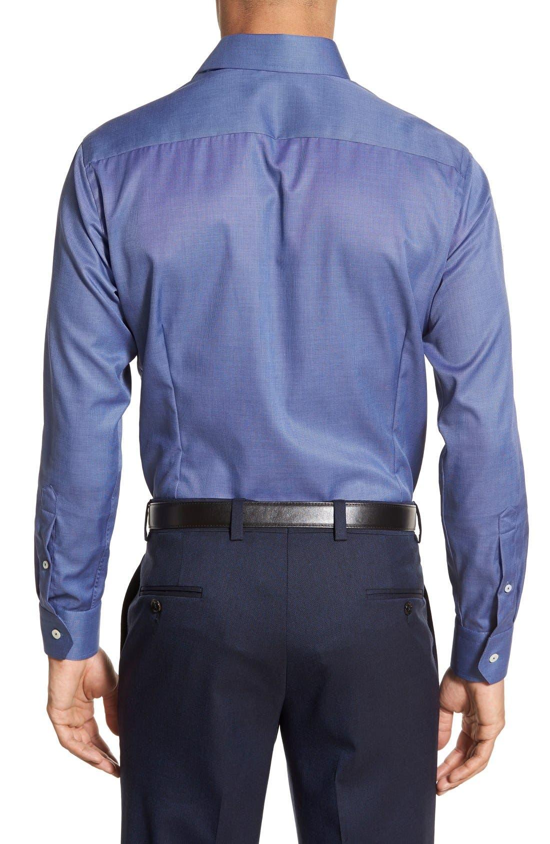 Alternate Image 3  - Eton Slim Fit Solid Dress Shirt