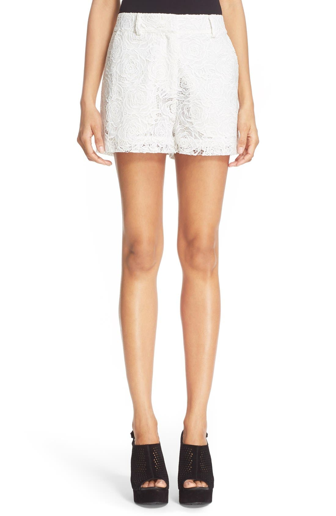 Alternate Image 1 Selected - McQ Alexander McQueen Lace Shorts