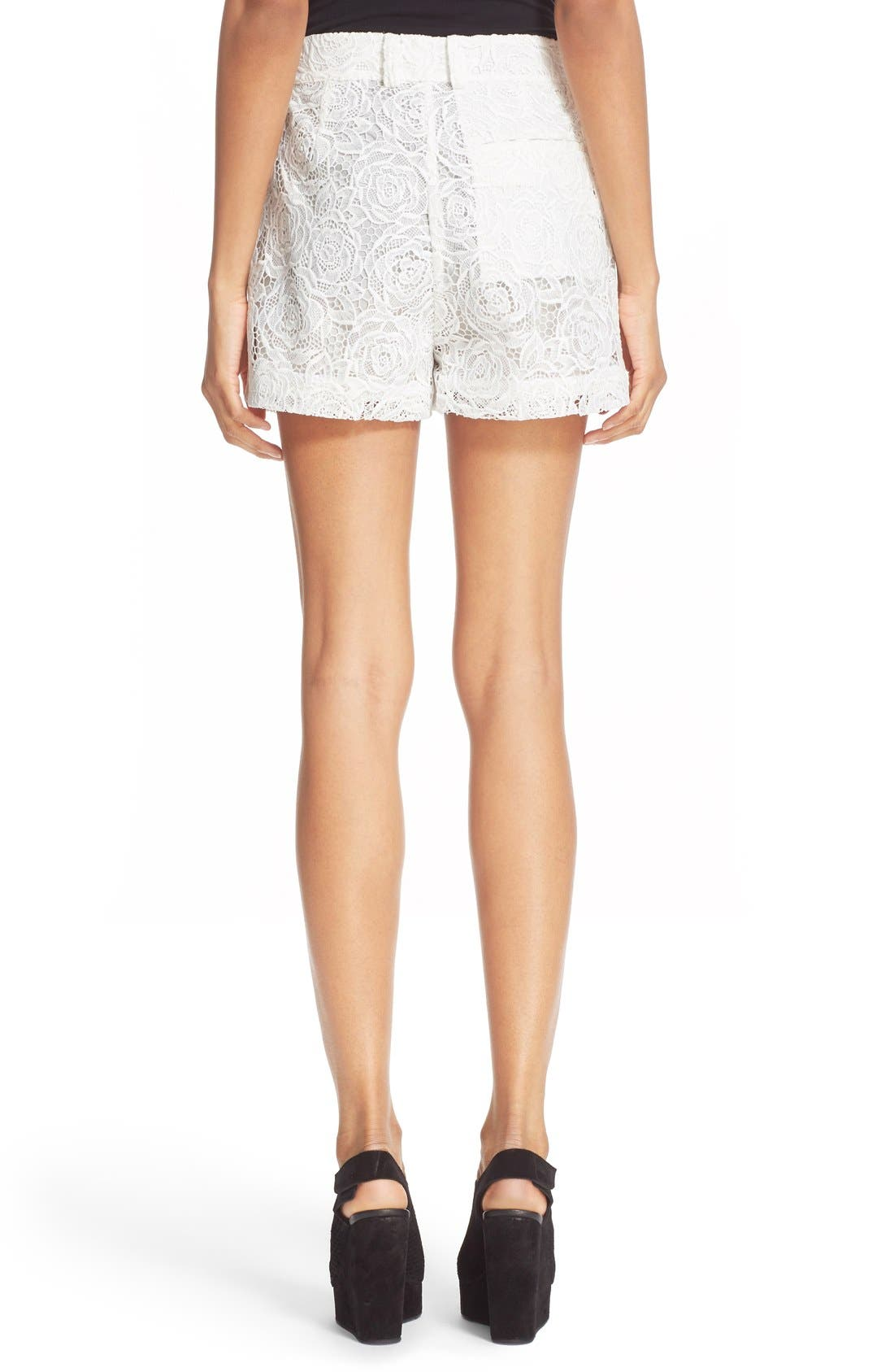 Alternate Image 2  - McQ Alexander McQueen Lace Shorts