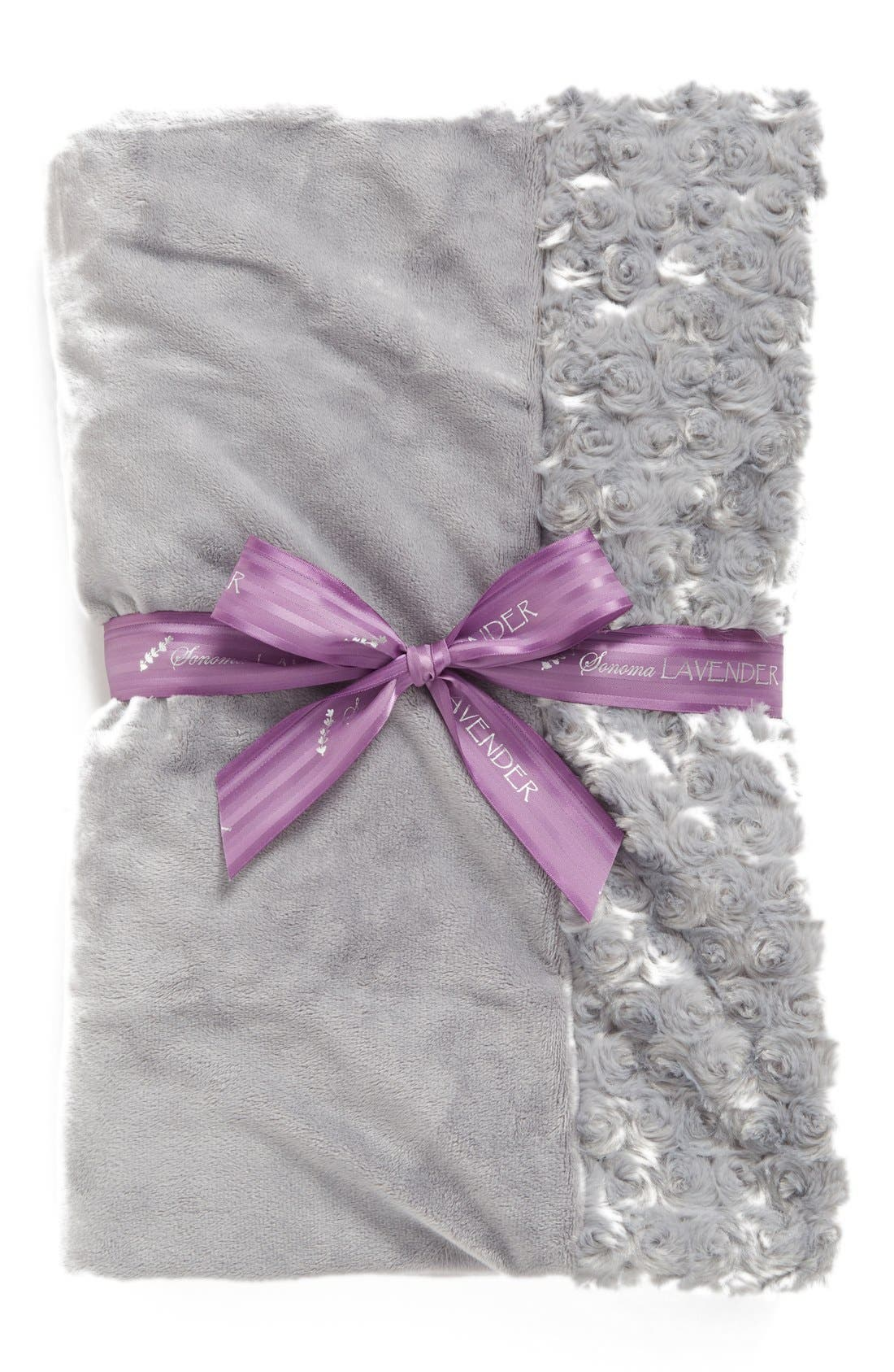 Sonoma Lavender Silver Rosette Blankie (Nordstrom Exclusive) ($70 Value)