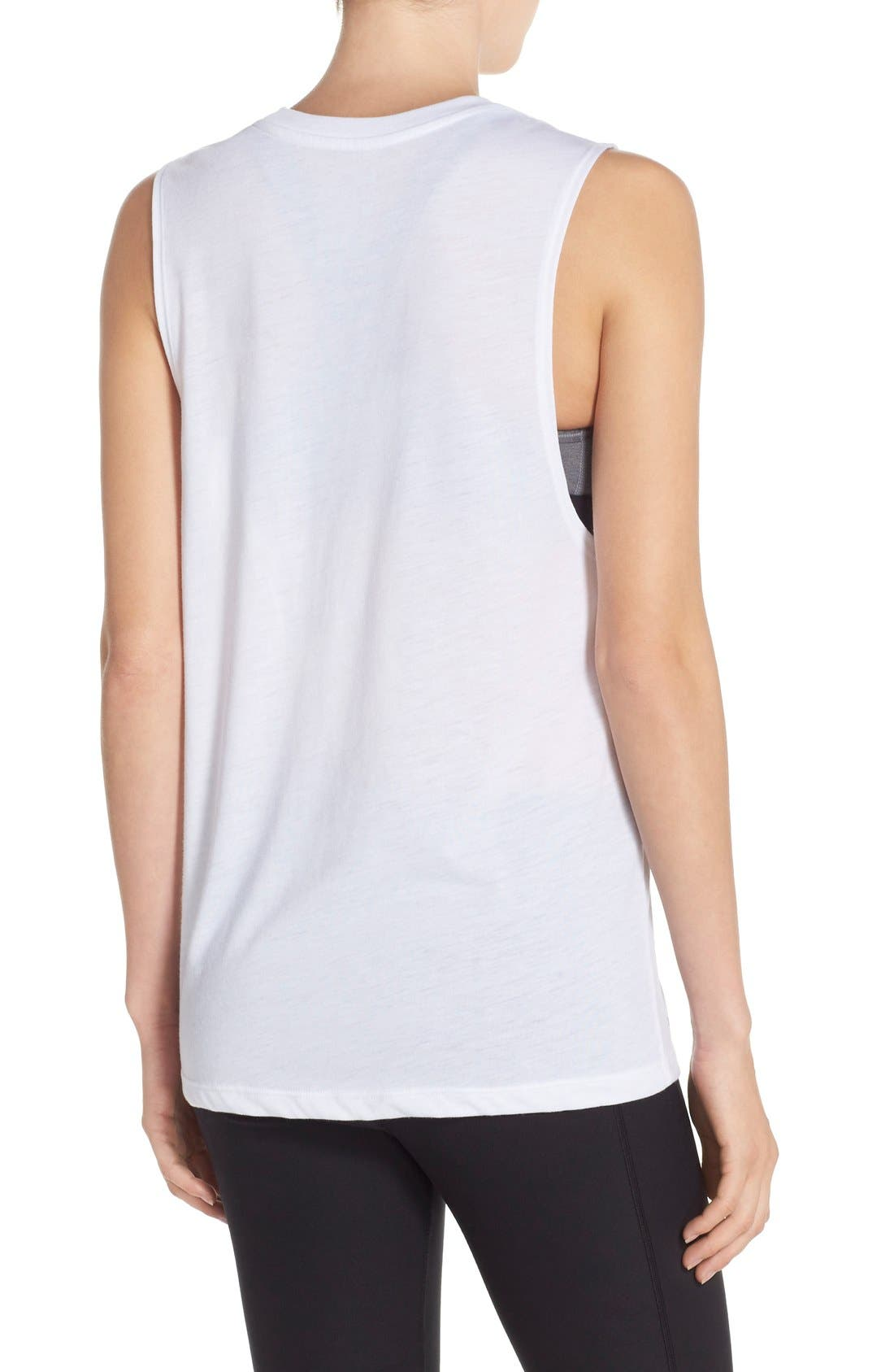 Alternate Image 2  - Nike 'There Is No Finish Line' Muscle Tank