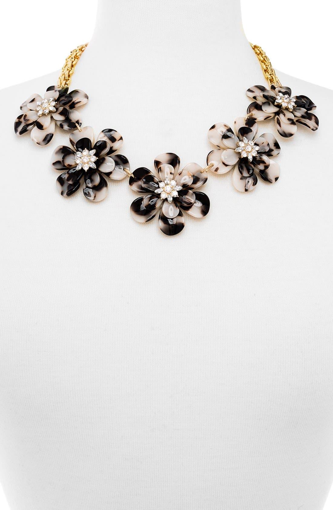 Alternate Image 2  - BaubleBar 'Twiggy' Floral Collar Necklace