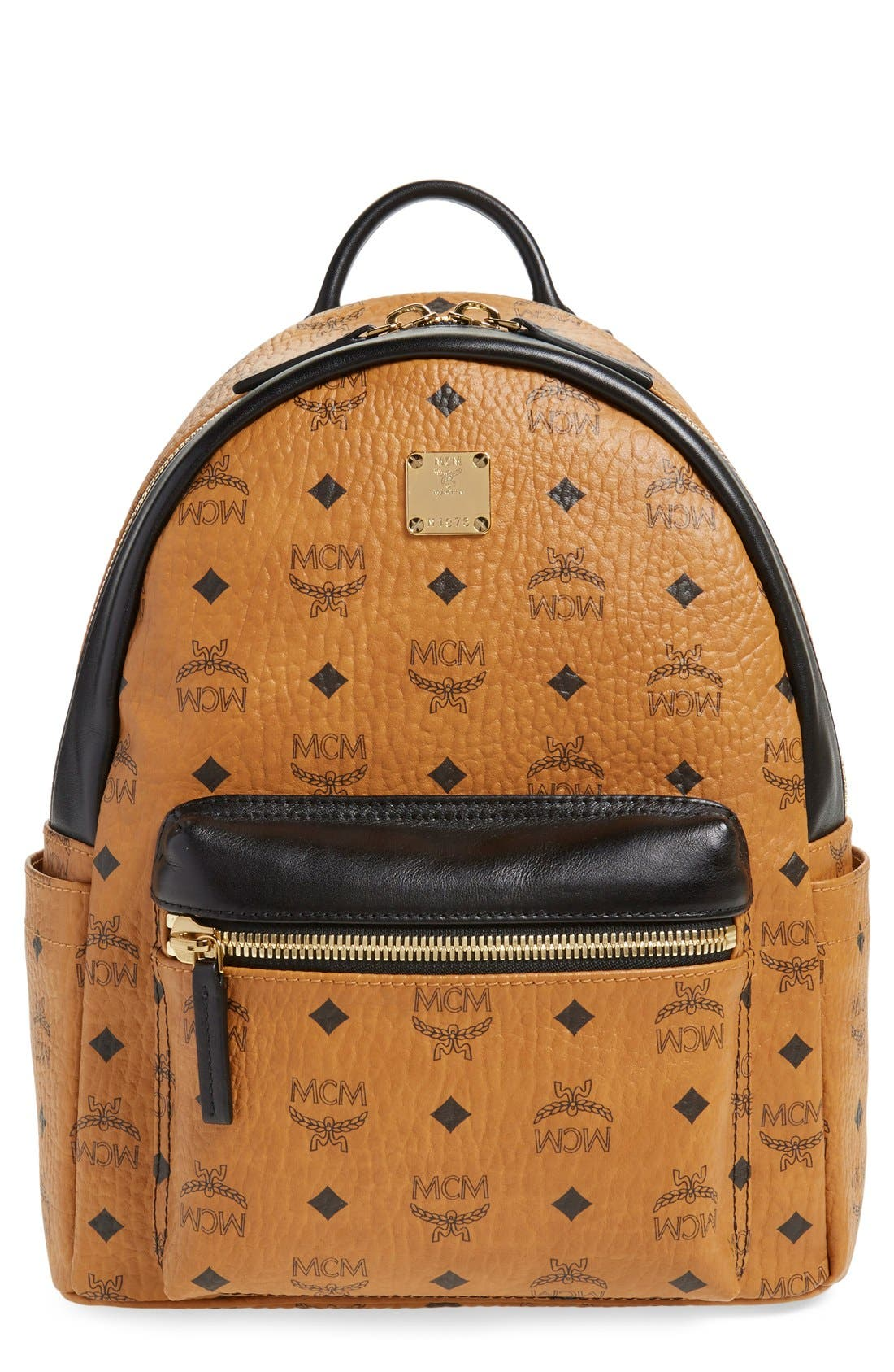 Main Image - MCM Backpack 'Small Stark' Coated Canvas Backpack (Nordstrom Exclusive)