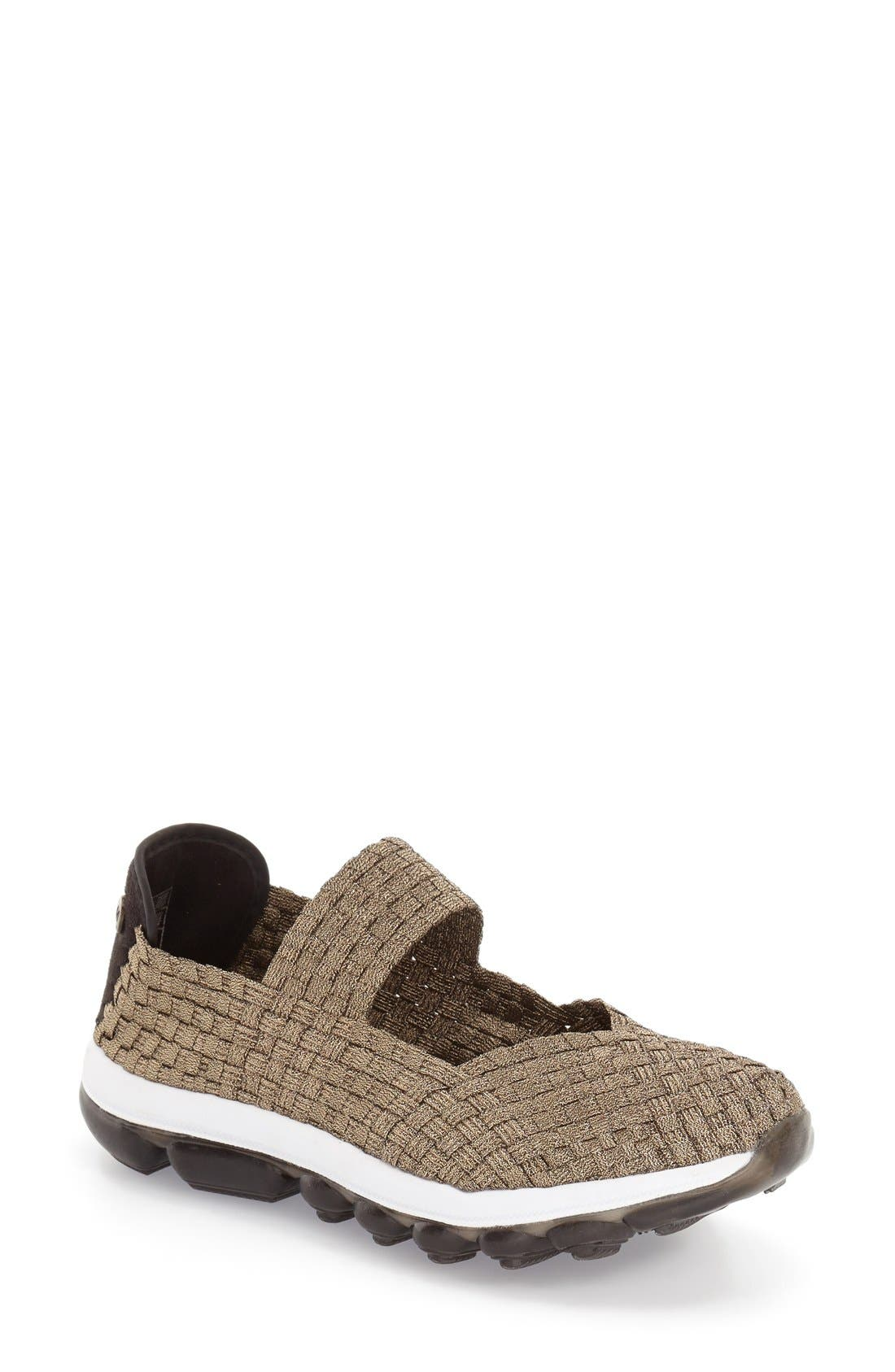 BERNIE MEV. 'Gummies Charm' Stretch Woven Slip-On Sneaker