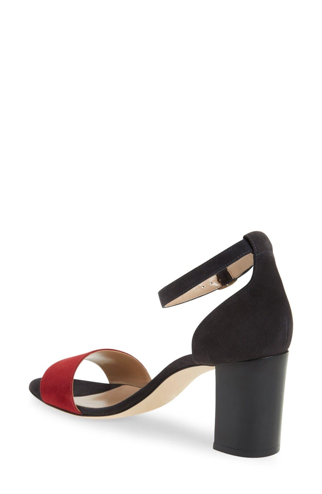 Alternate Image 2  - Manolo Blahnik 'Lauratomod' Ankle Strap Sandal (Women)