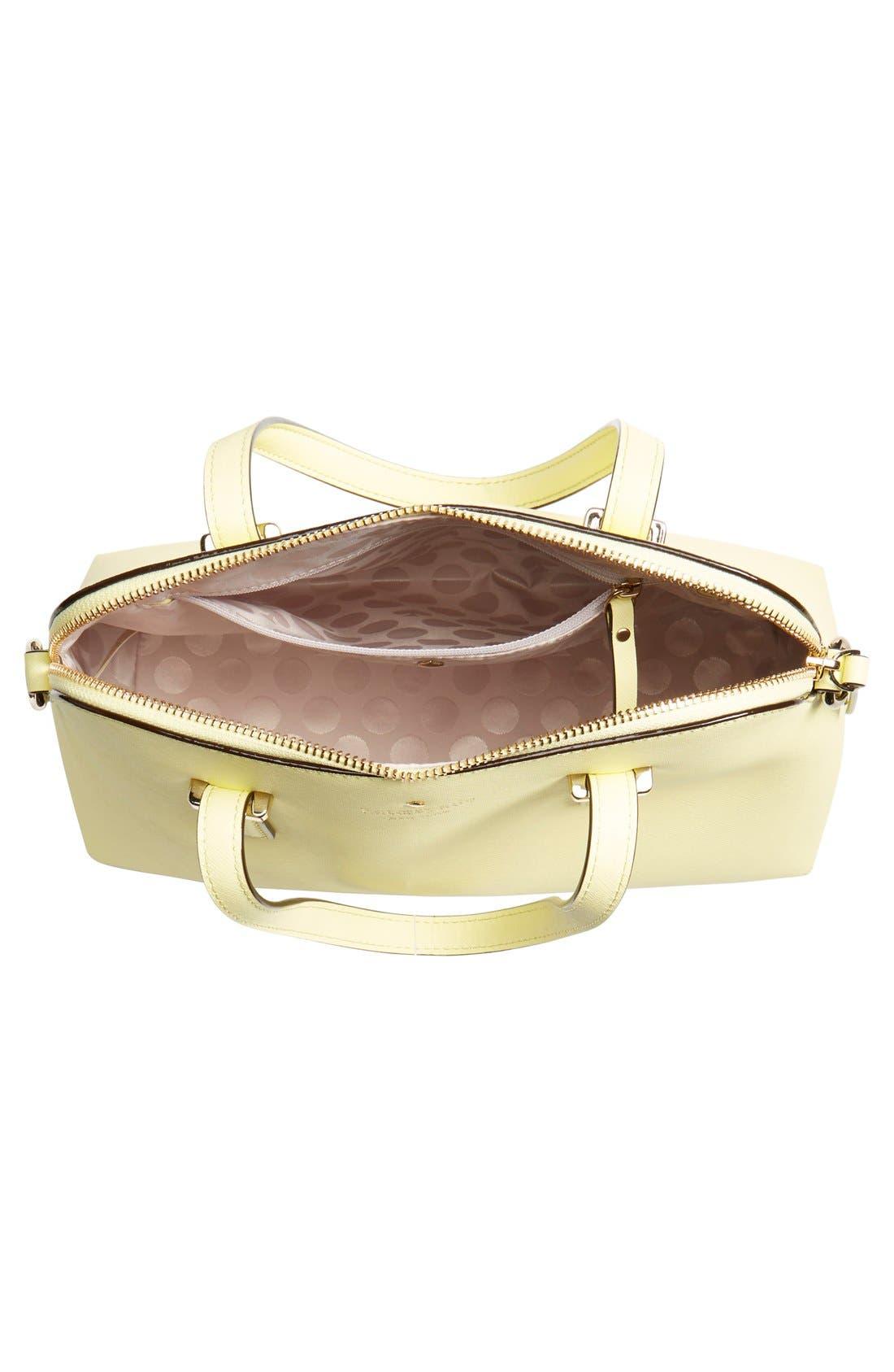 Alternate Image 4  - kate spade new york 'cedar street - maise' leather satchel