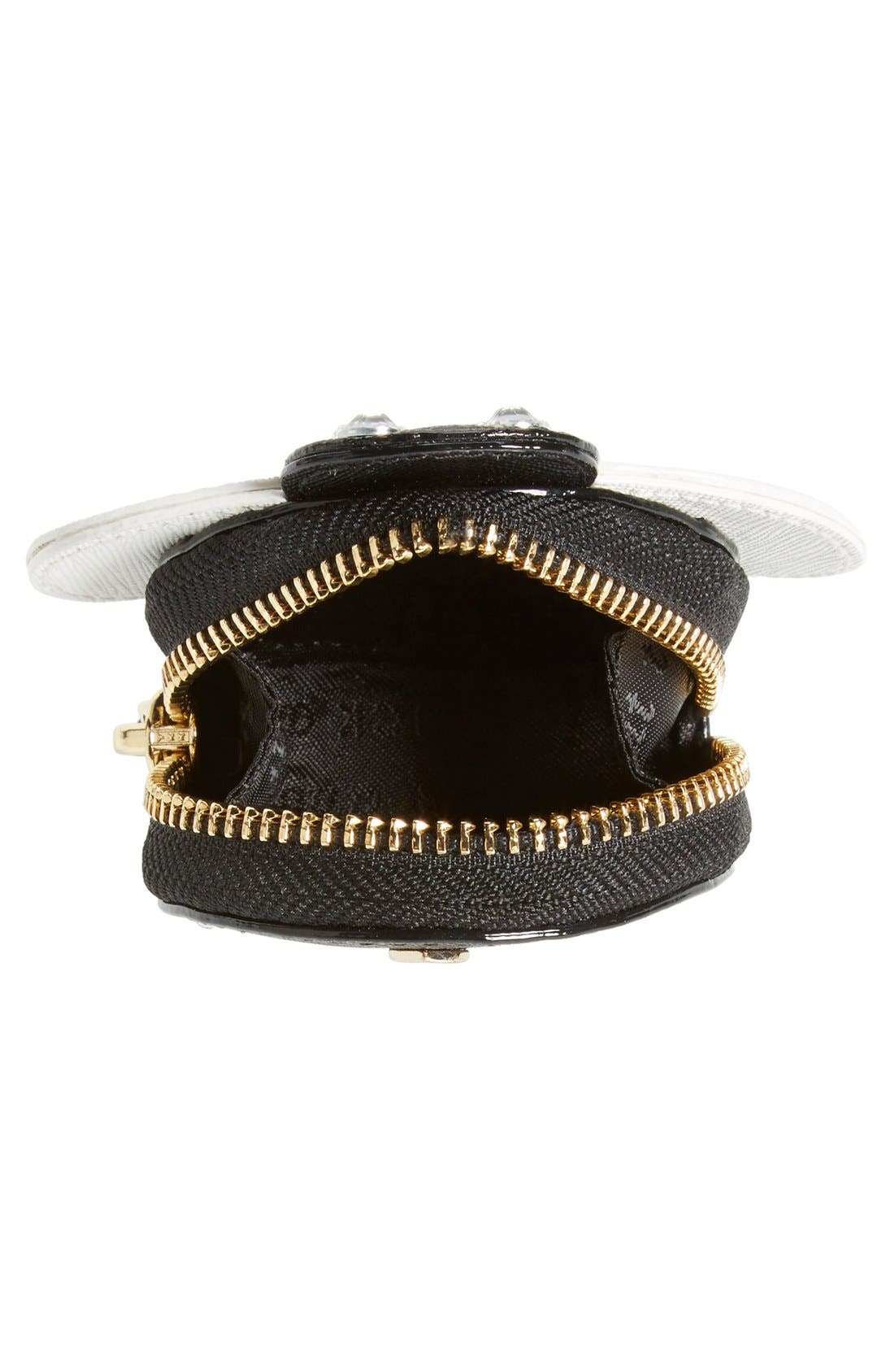Alternate Image 4  - kate spade new york 'bee' leather coin purse