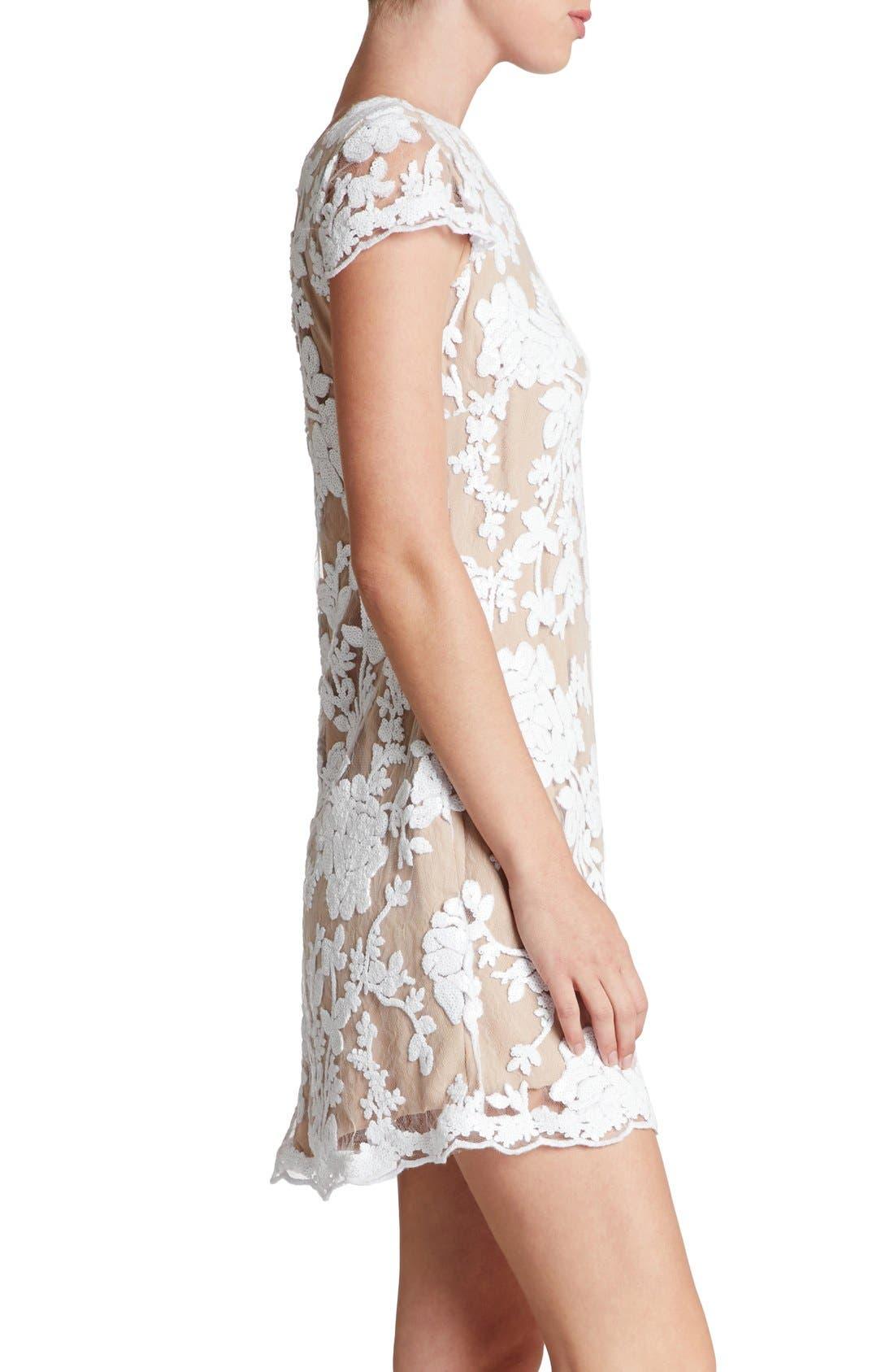 Alternate Image 3  - Dress the Population 'Hope' Lace Sheath Dress
