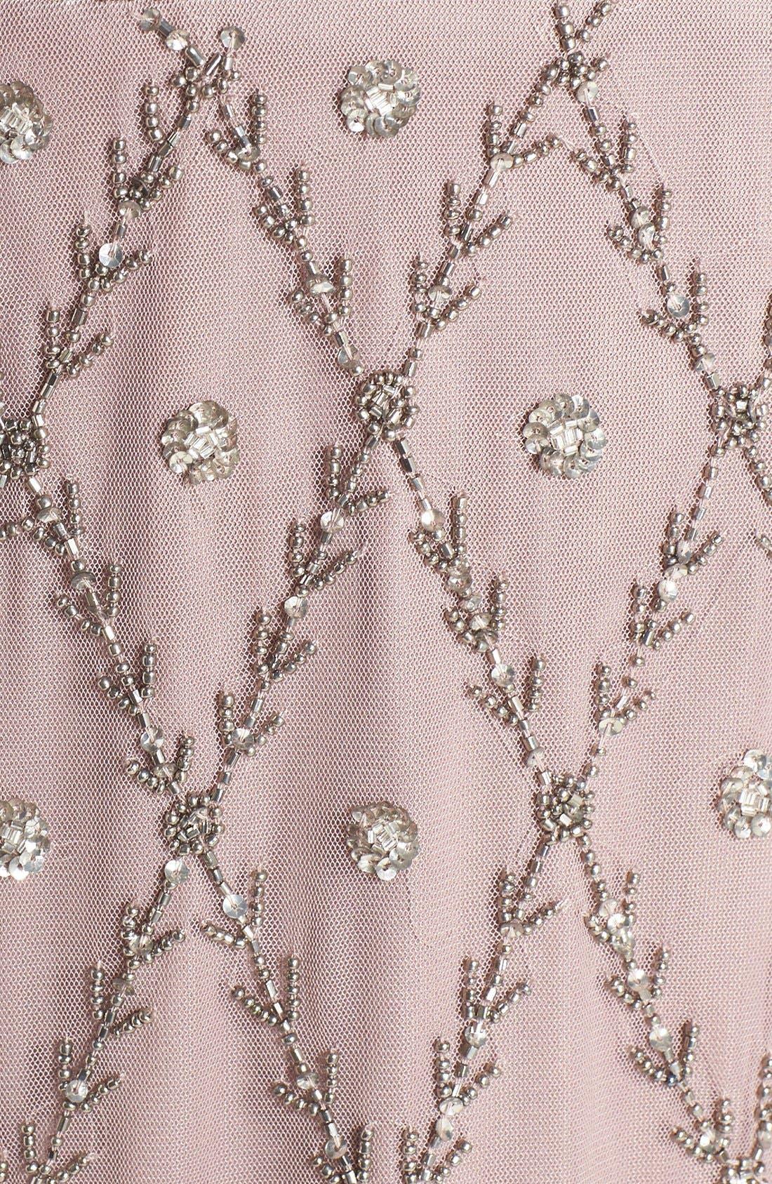 Alternate Image 7  - Adrianna Papell Embellished Mesh Sheath Dress