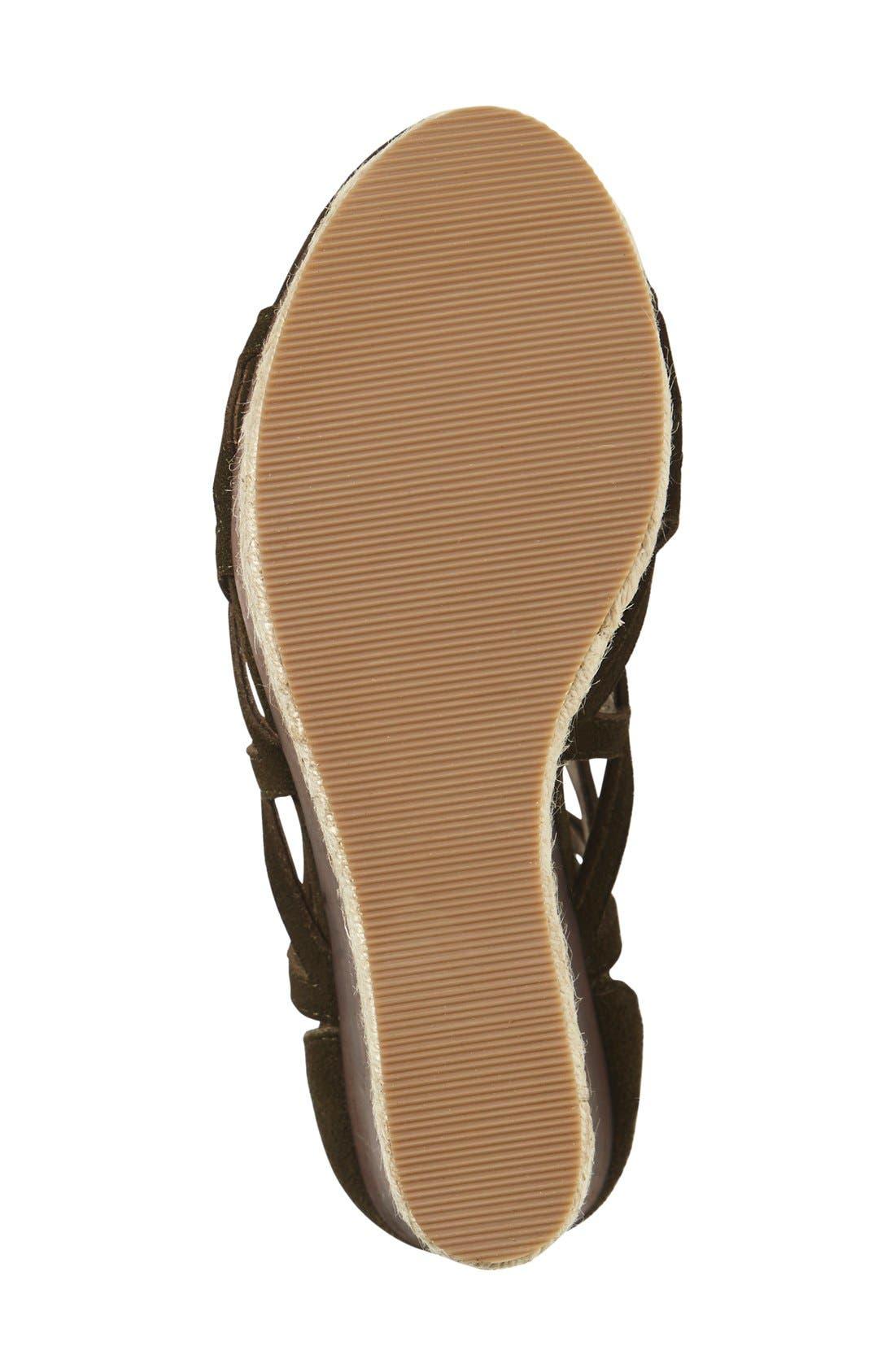 Alternate Image 4  - Shellys London 'Emerald' Wedge Sandal (Women)