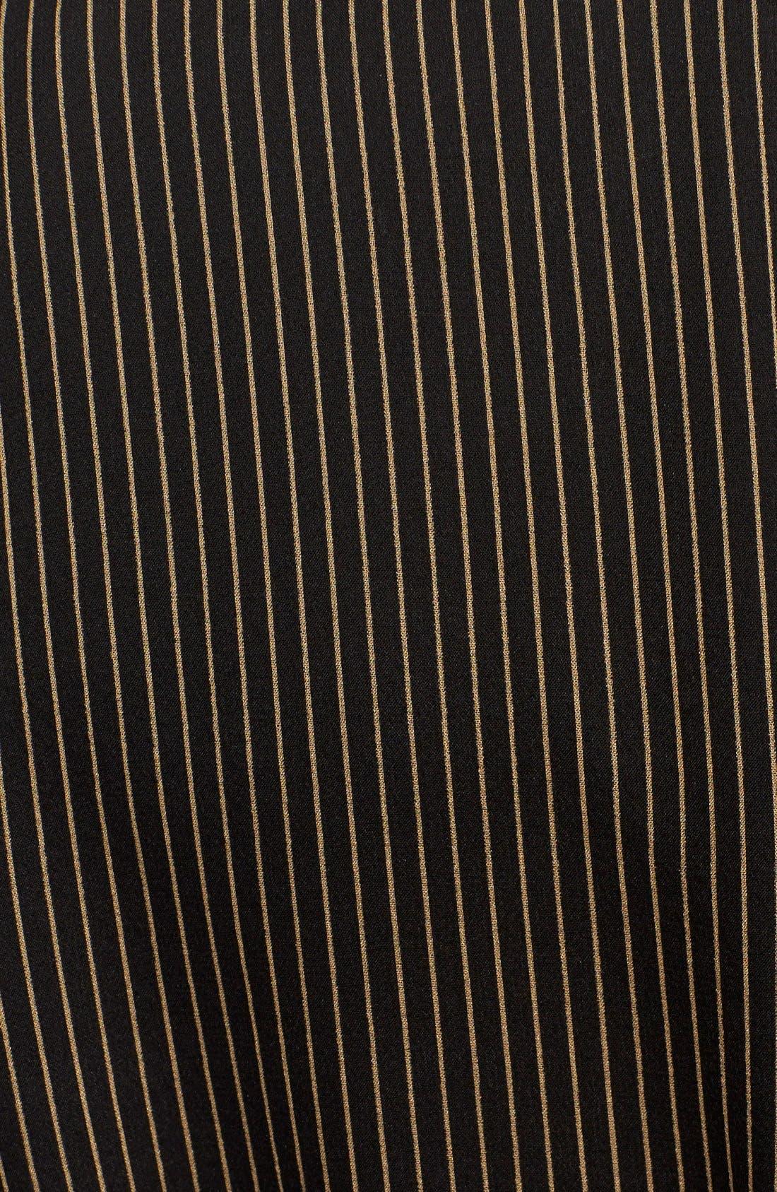 Alternate Image 5  - Diane von Furstenberg 'Arabella' Pinstripe Silk Dress