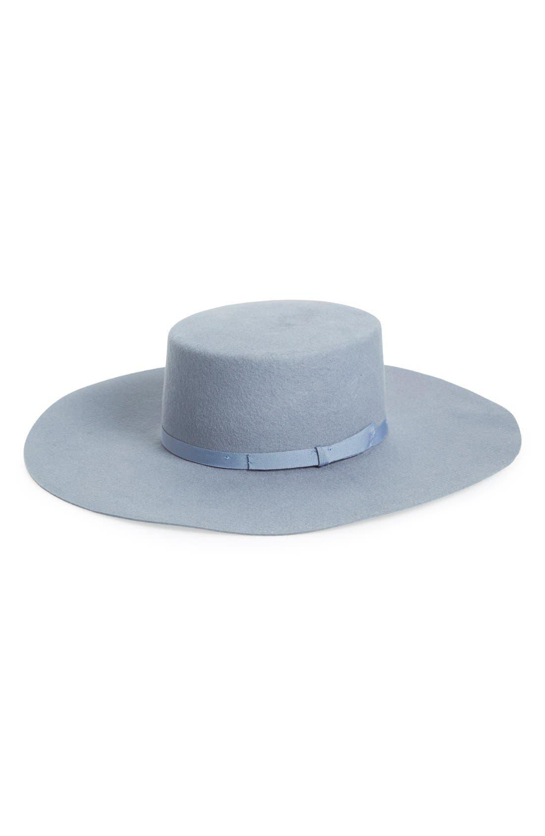 Alternate Image 1 Selected - Brixton 'Ally II' Flat Brim Hat