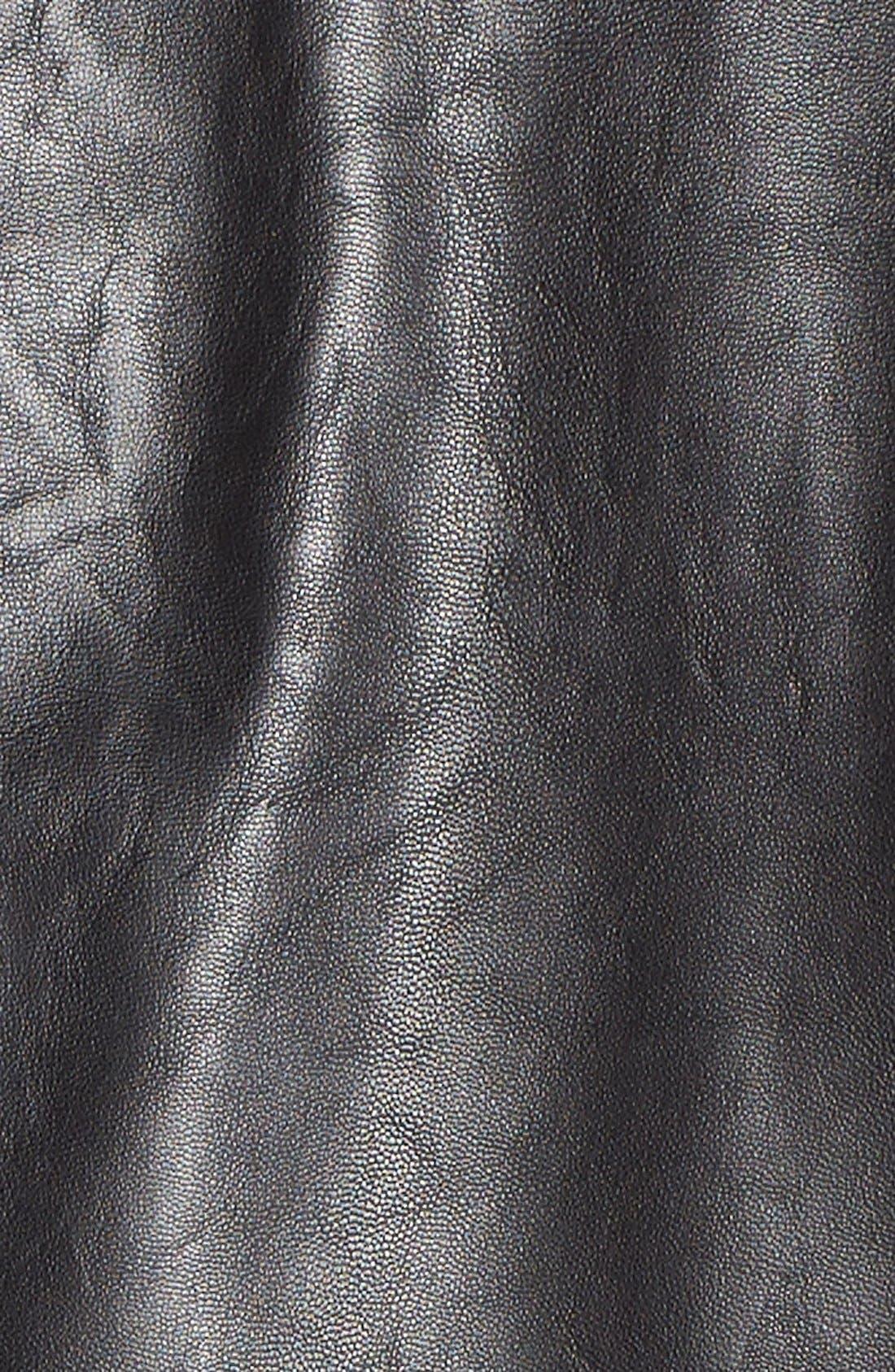 Alternate Image 5  - Levi's® 'Cascade' Faux Leather Jacket (Plus Size)