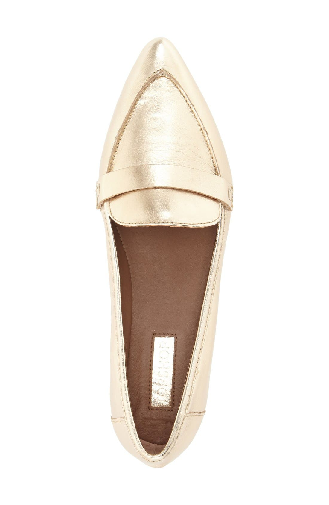 Alternate Image 3  - Topshop Kimi Loafer (Women)