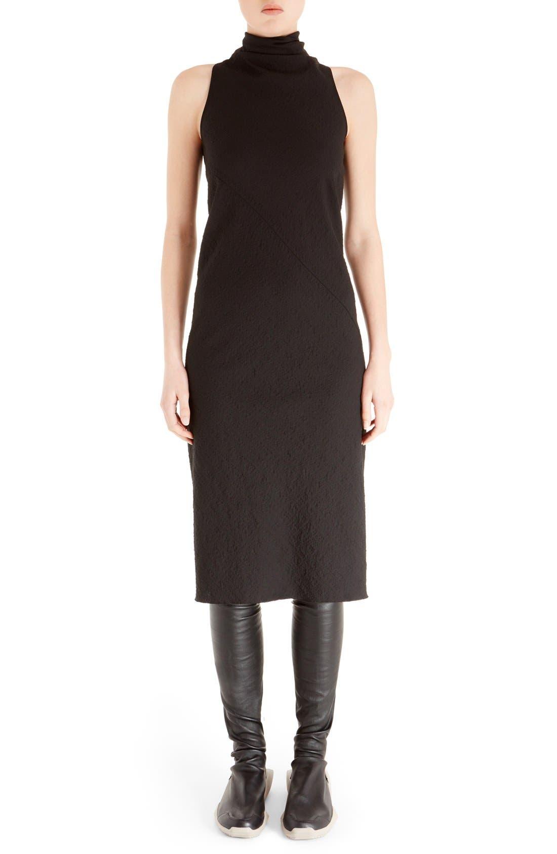 Main Image - Rick Owens Sleeveless Jacquard Sheath Dress