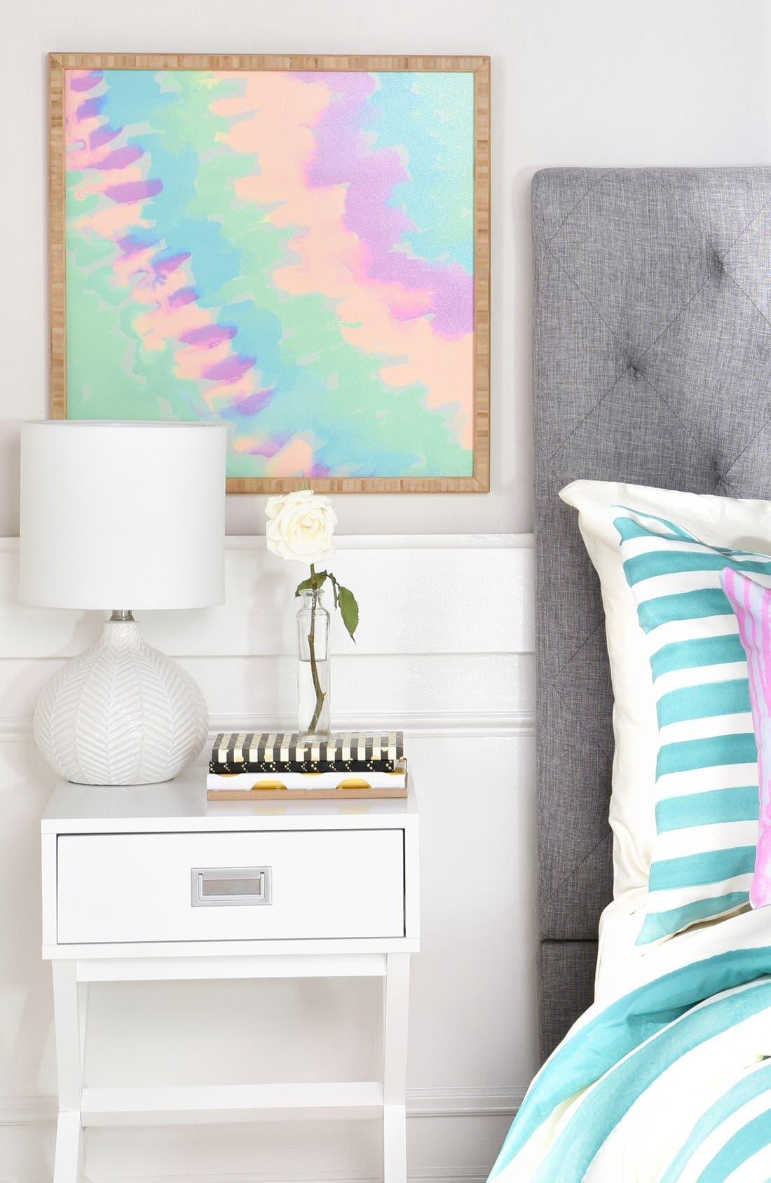 Alternate Image 2  - DENY Designs 'Some Kind of Wonderful' Framed Wall Art