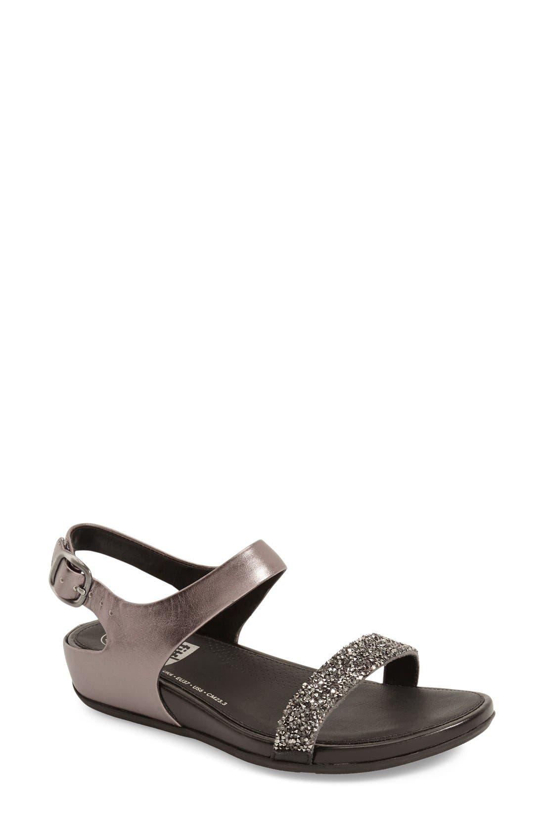 FitFlop™ 'Banda Supercomff™ Roxy' Slingback Sandal (Women)
