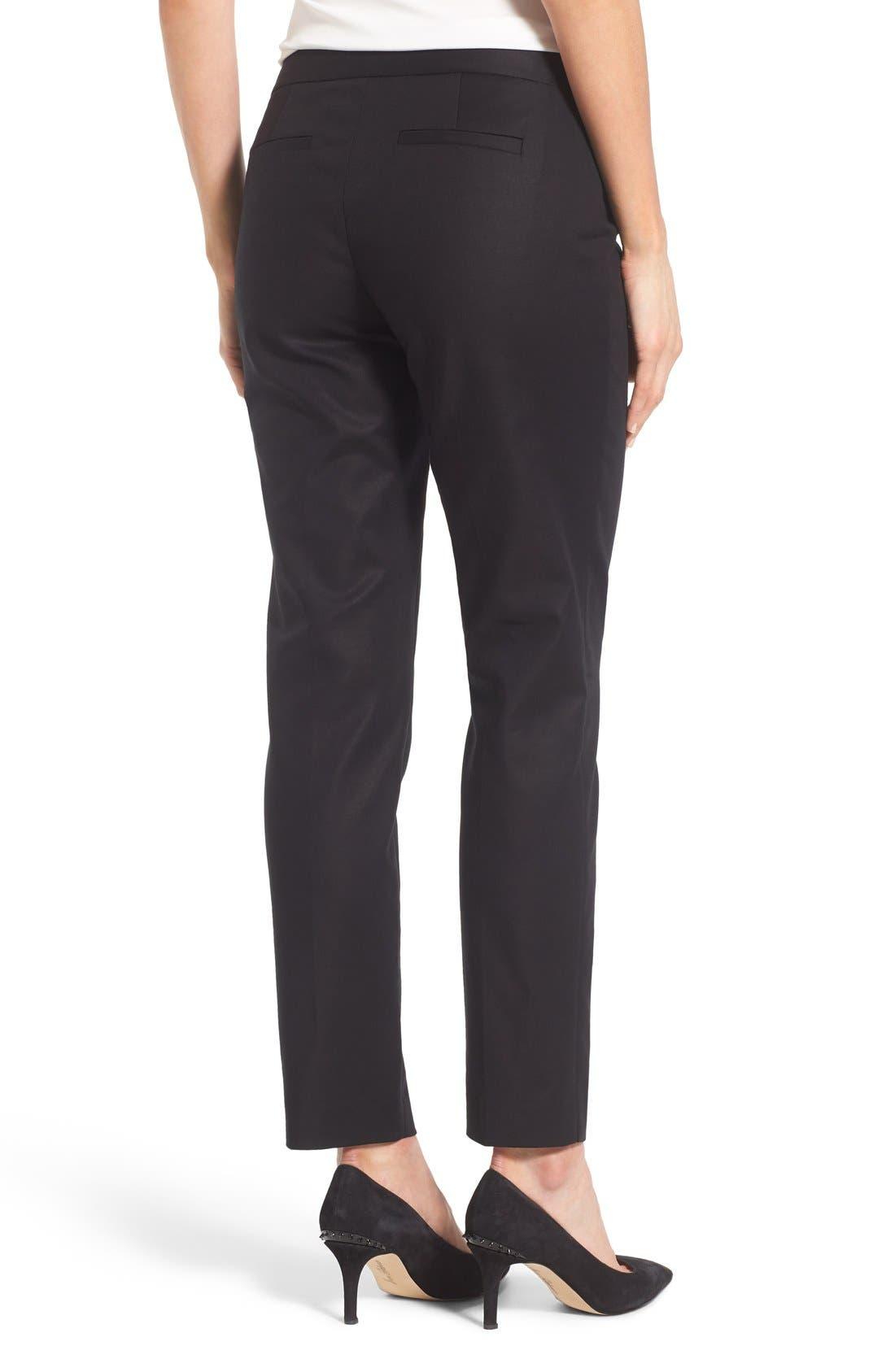 Alternate Image 2  - Cece Double Weave Slim Pants