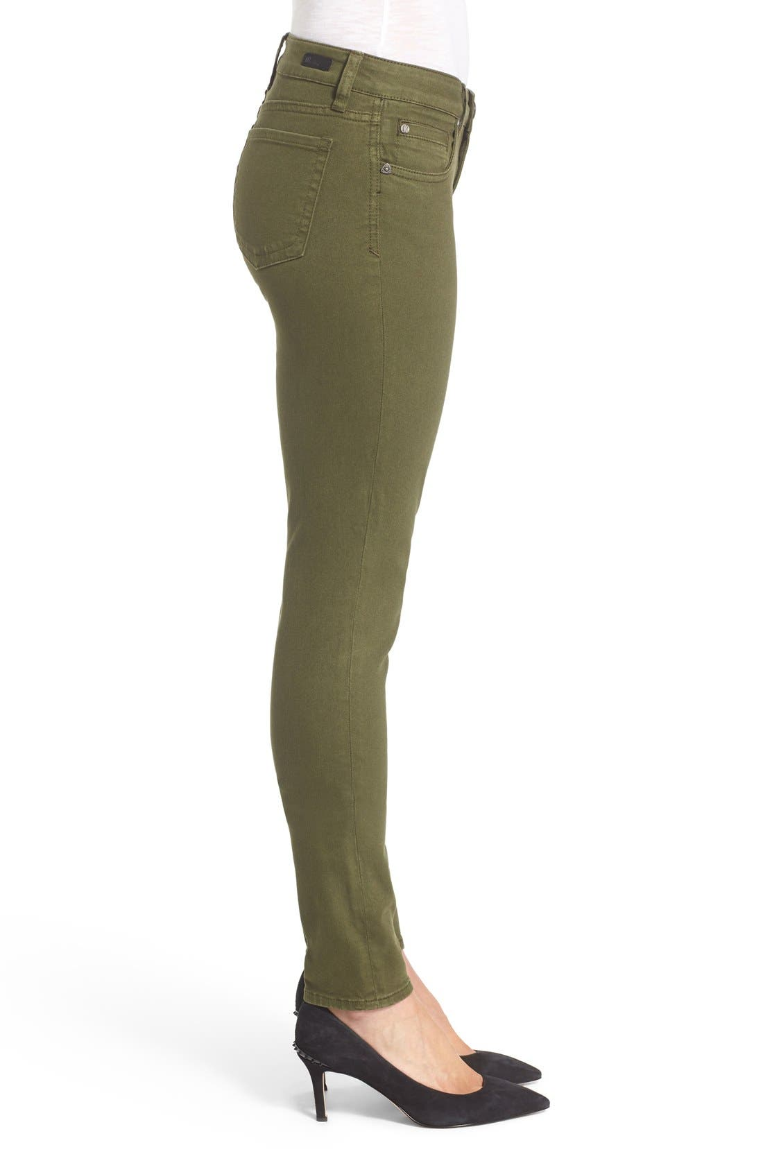 Alternate Image 3  - KUT from the Kloth Diana Colored Denim Skinny Jeans