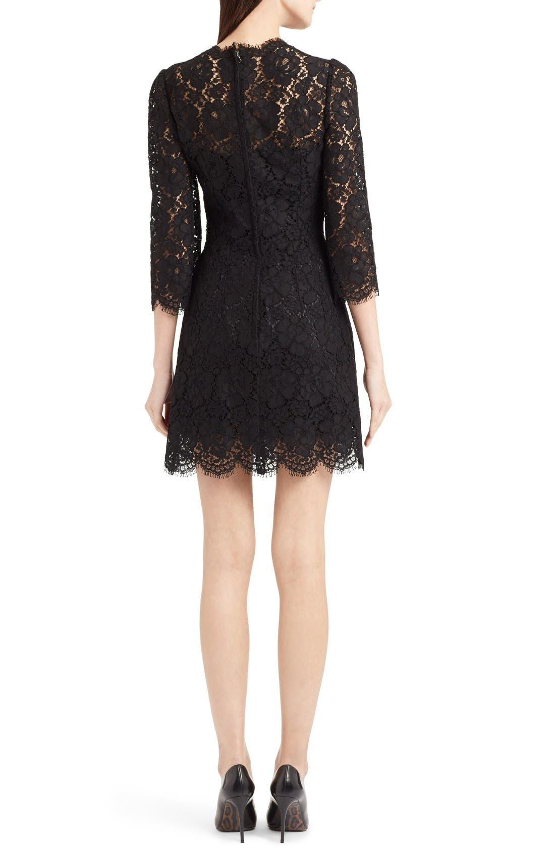 Alternate Image 2  - Dolce&Gabbana Lace Sheath Dress
