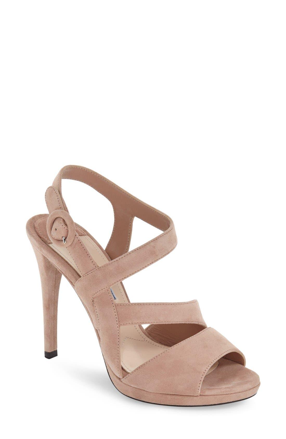 Alternate Image 1 Selected - Prada Strappy Sandal (Women)