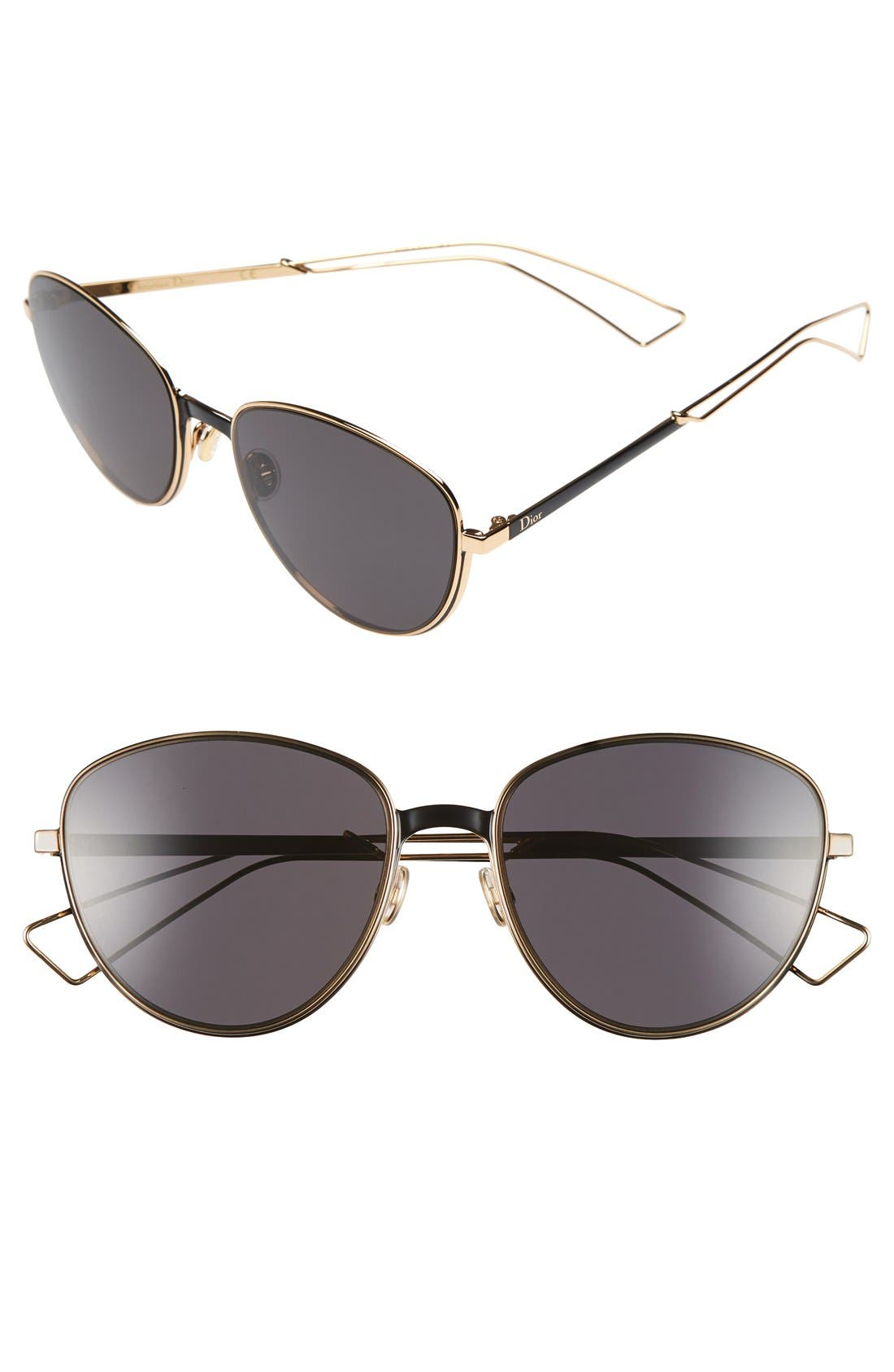 'Ultradior' 56mm Aviator Sunglasses